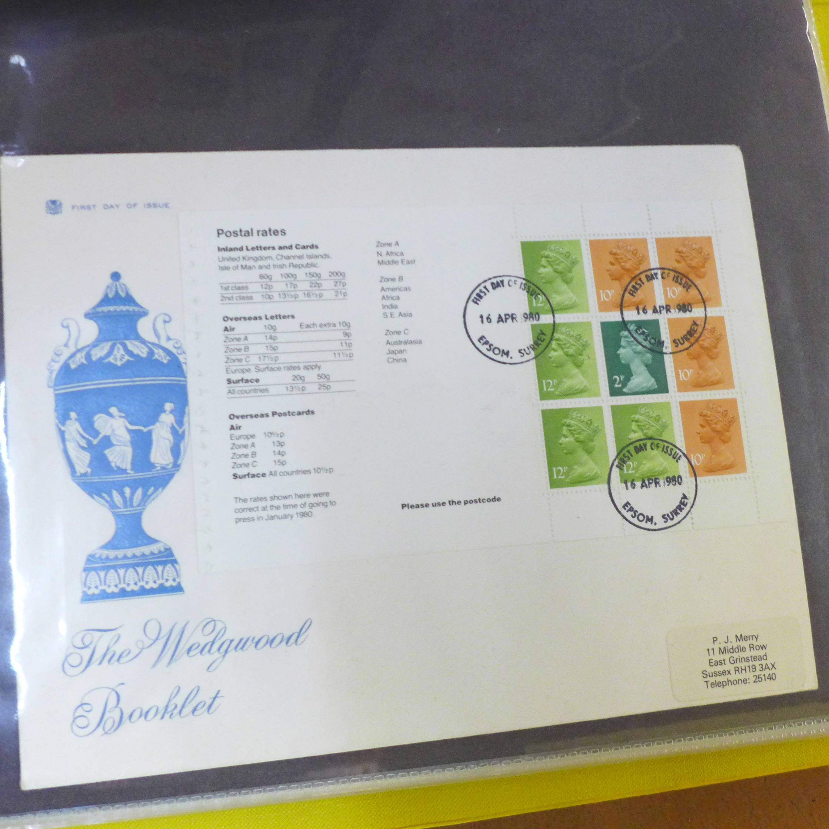 Great Britain booklets, booklet panes and booklet First Day covers - Face value exceeds £40 - Image 7 of 12