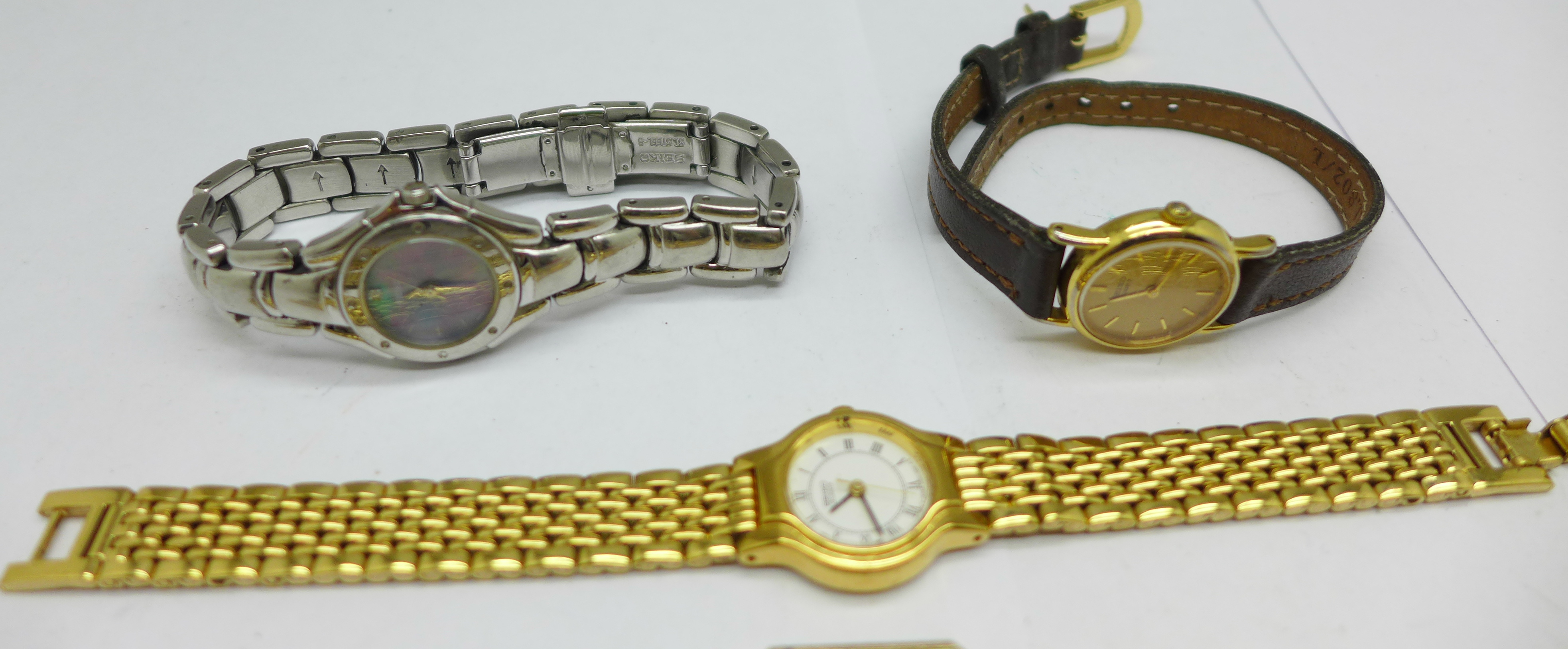 Six lady's Seiko wristwatches - Image 3 of 4