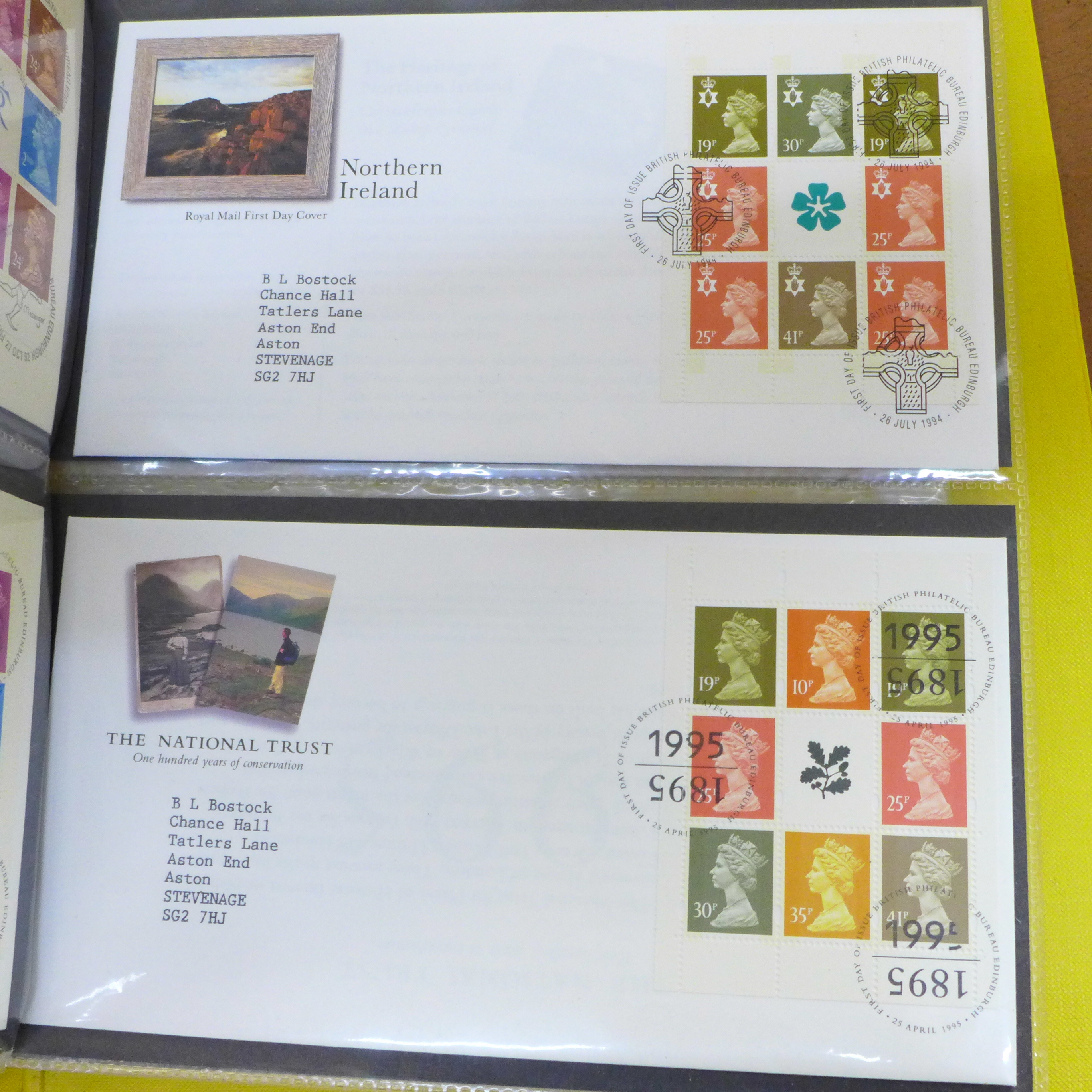 Great Britain booklets, booklet panes and booklet First Day covers - Face value exceeds £40 - Image 8 of 12