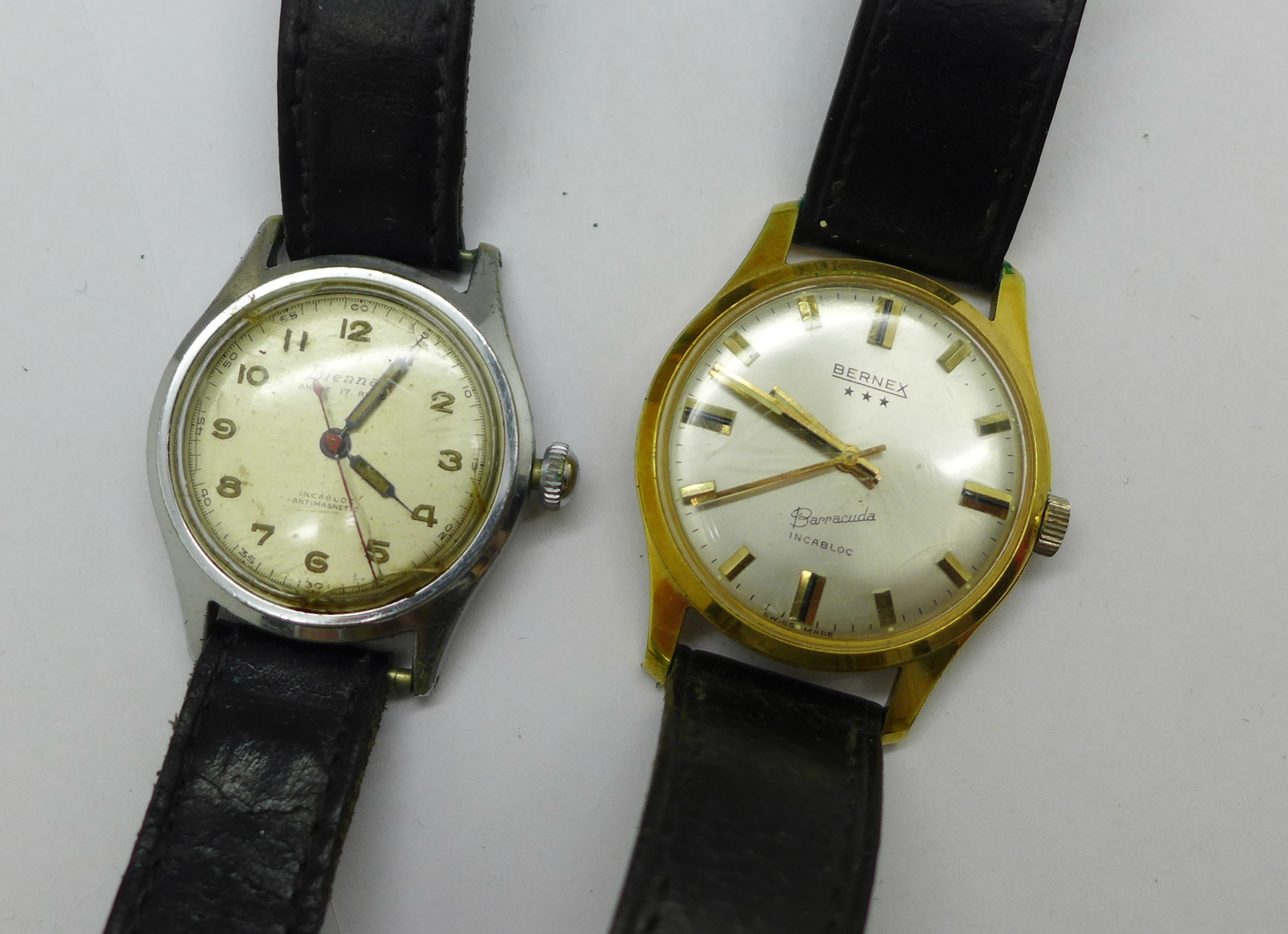 Five wristwatches including Bernex Barracuda and Ramona automatic - Image 4 of 5