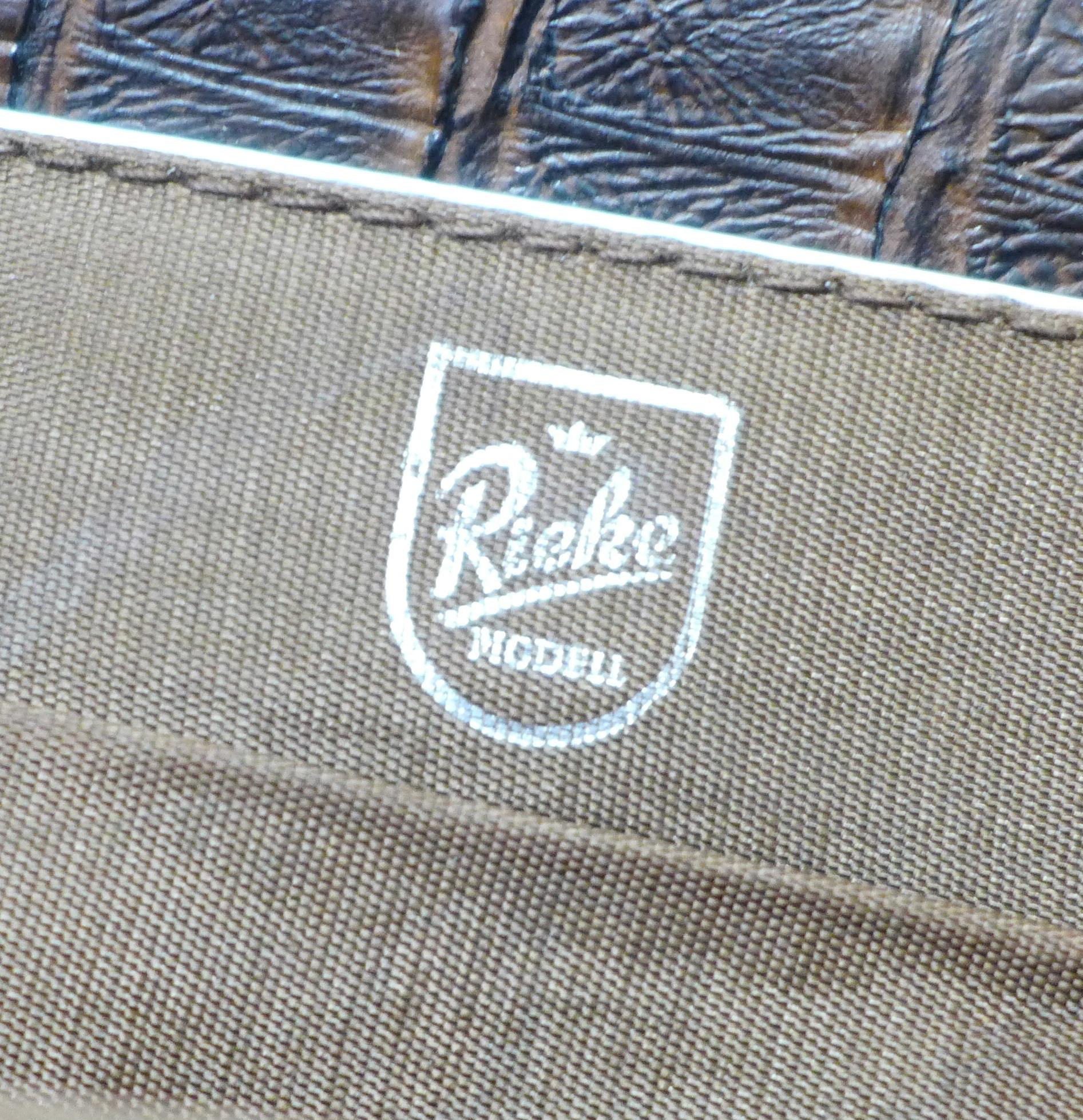 A Rieke vintage faux crocodile skin handbag - Image 4 of 4