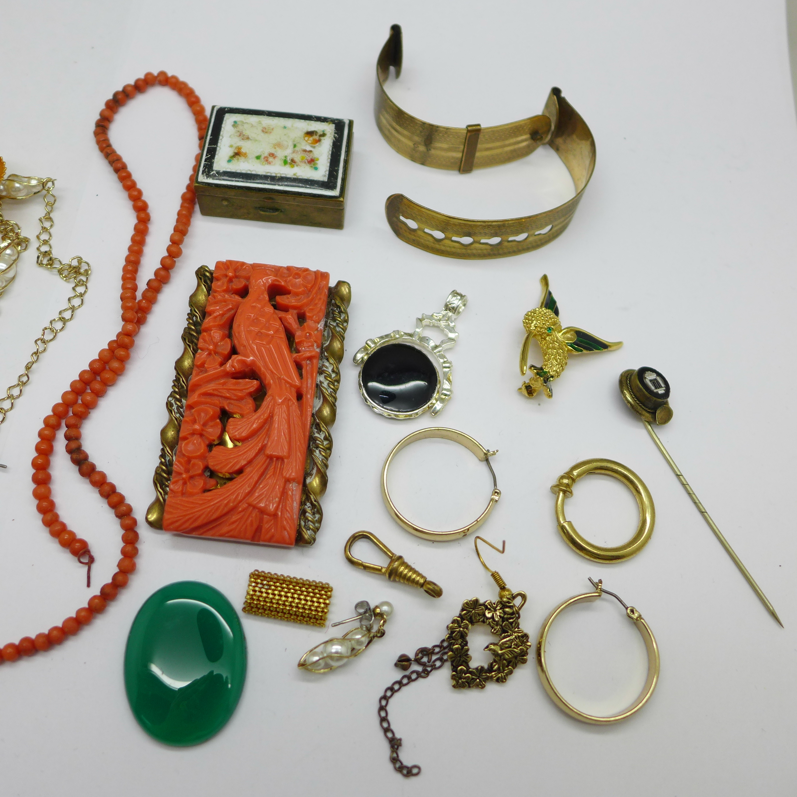 Costume jewellery, some a/f - Image 3 of 3