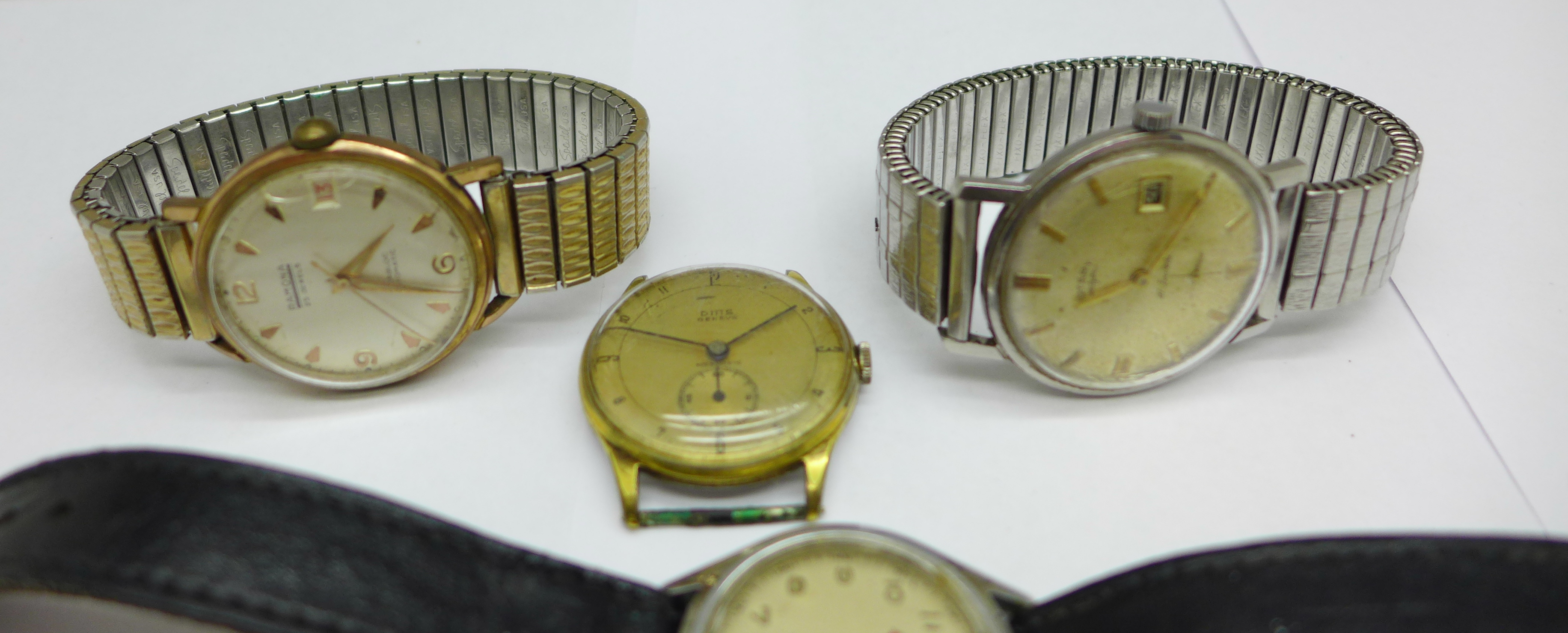 Five wristwatches including Bernex Barracuda and Ramona automatic - Image 2 of 5