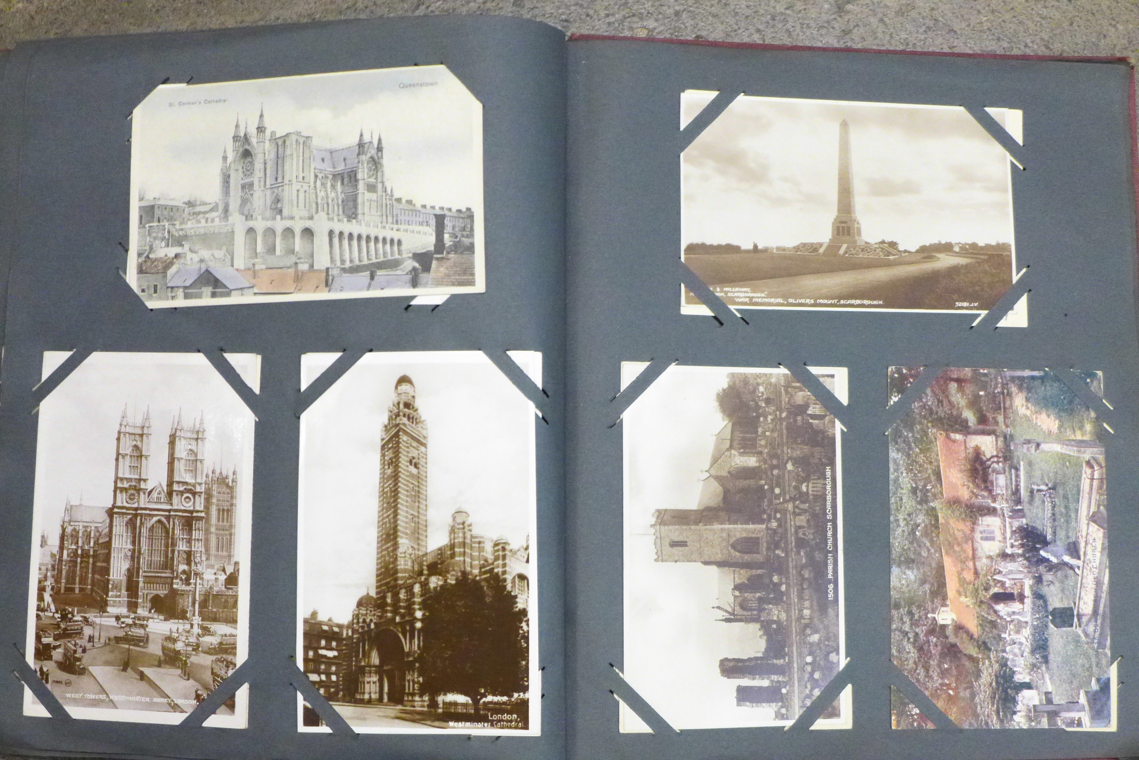An album of 1920's postcards and postal history - Image 2 of 9