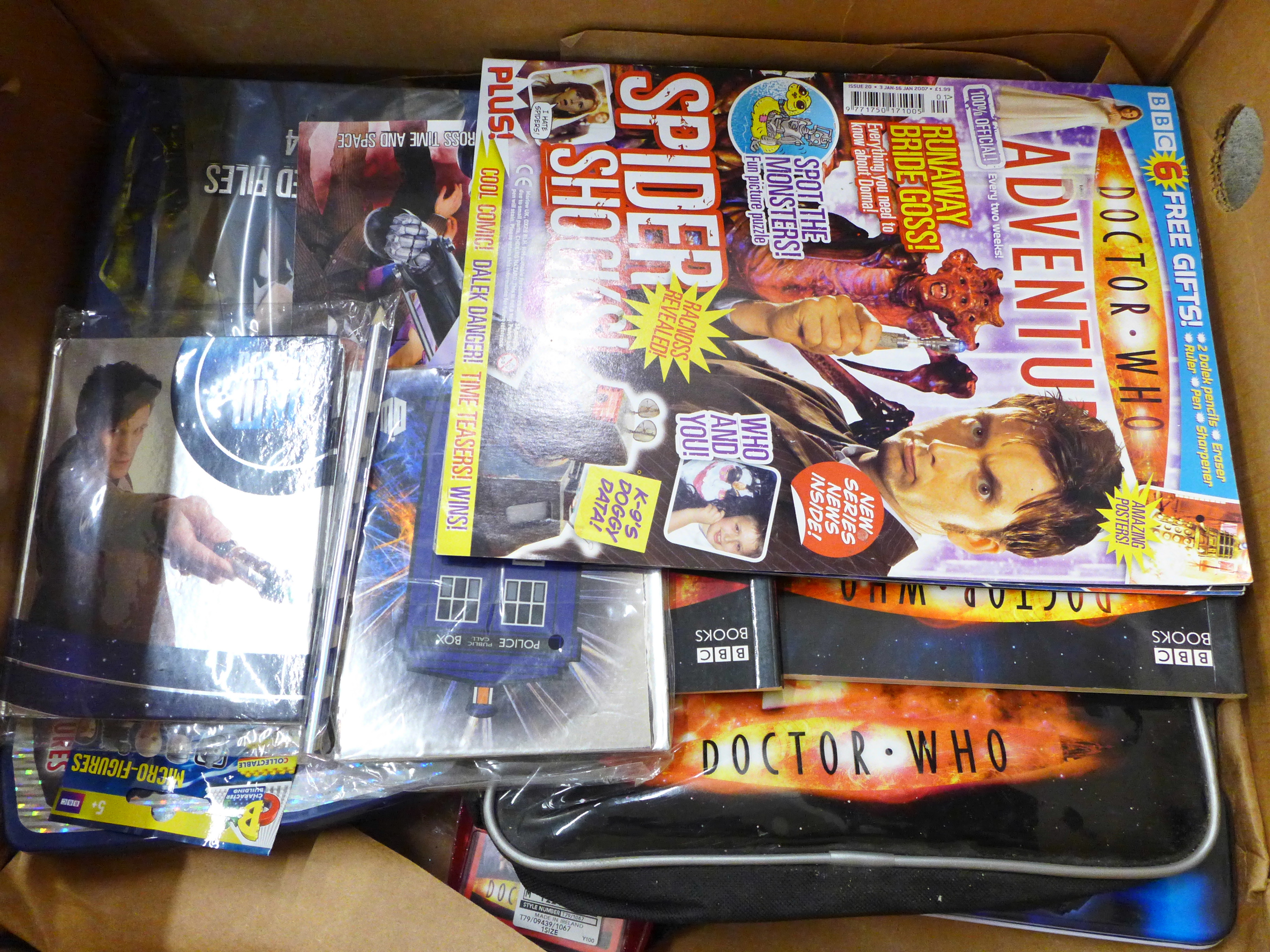 A collection of vintage Doctor Who merchandise and games, including a radio controlled Dalek - Image 3 of 3