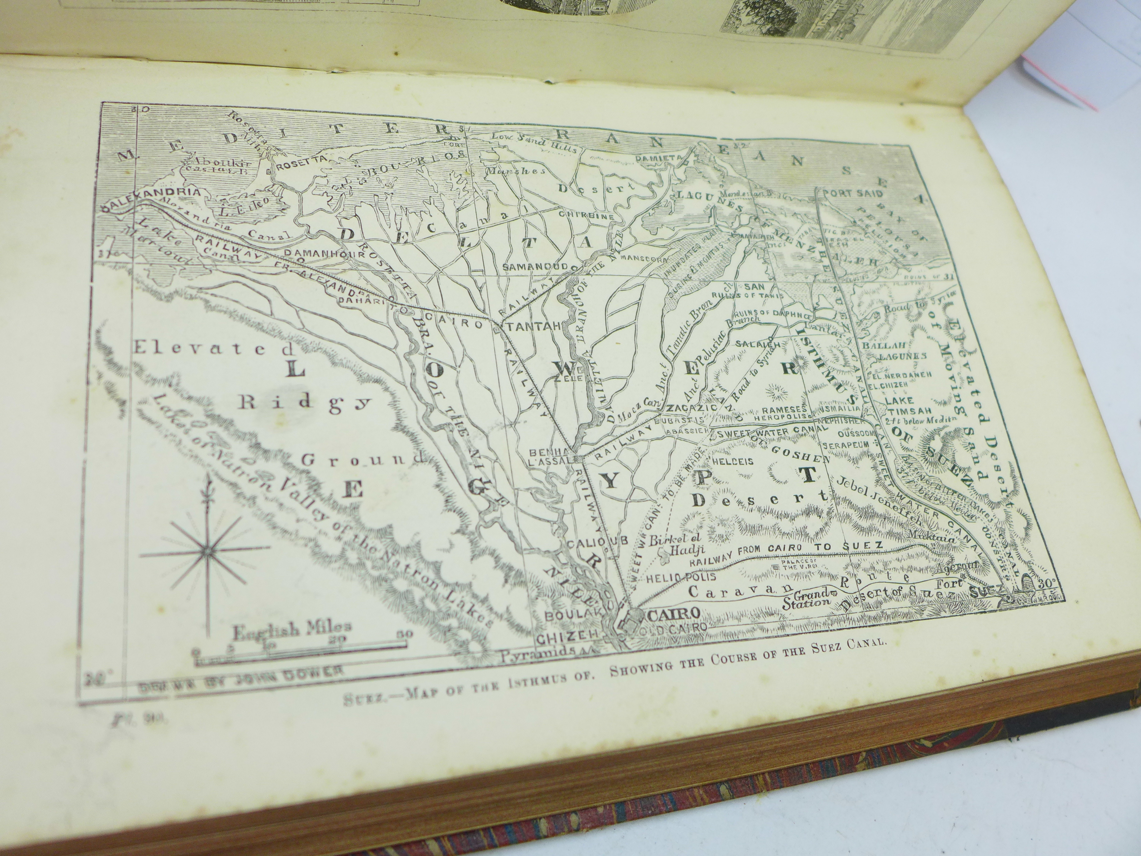 Two volumes, Beeton's Dictionary of Geography, printed by Savill, Edwards & Co., circa 1869, with - Image 7 of 8