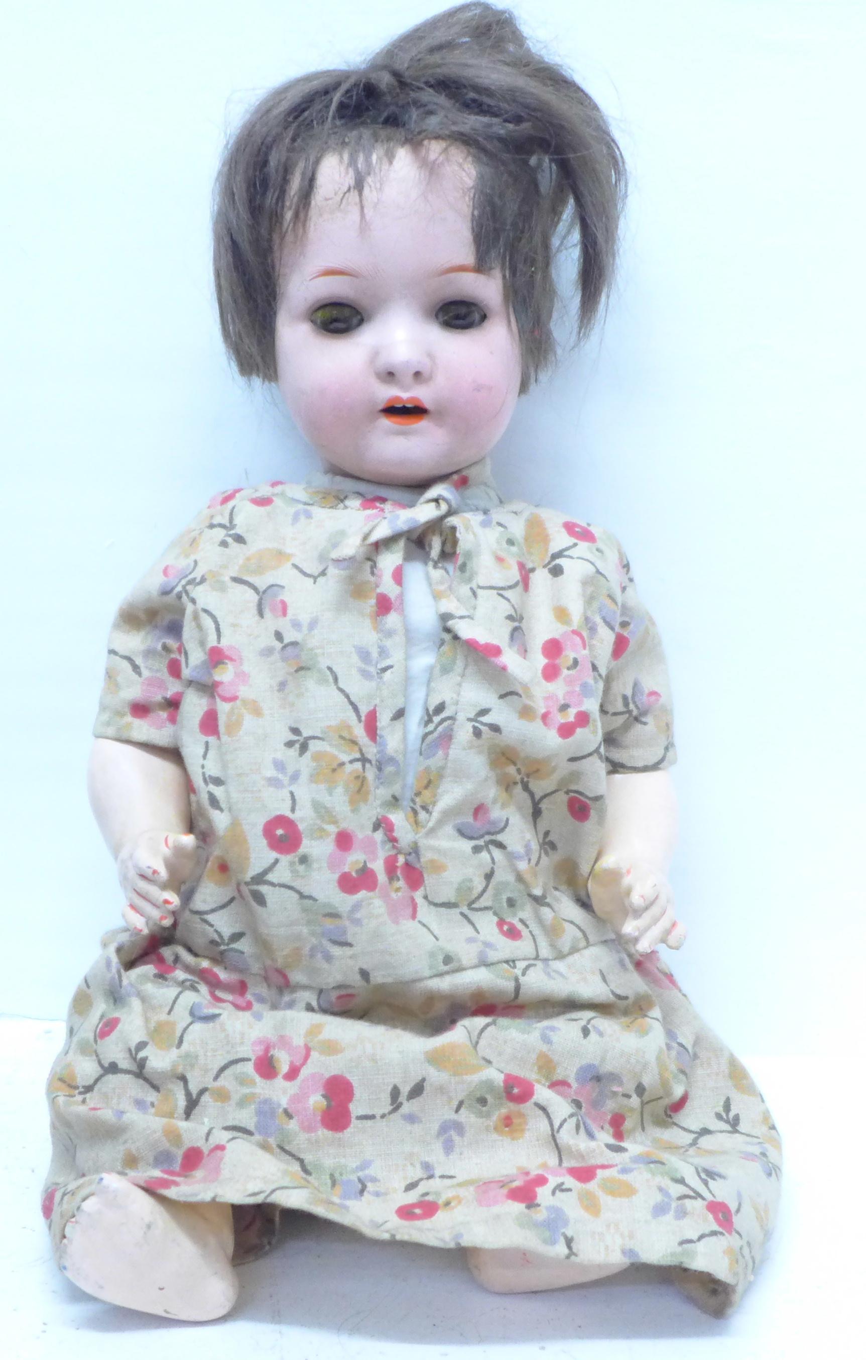 A Heubach Koppelsdorf doll, 320.2/0, 37cm