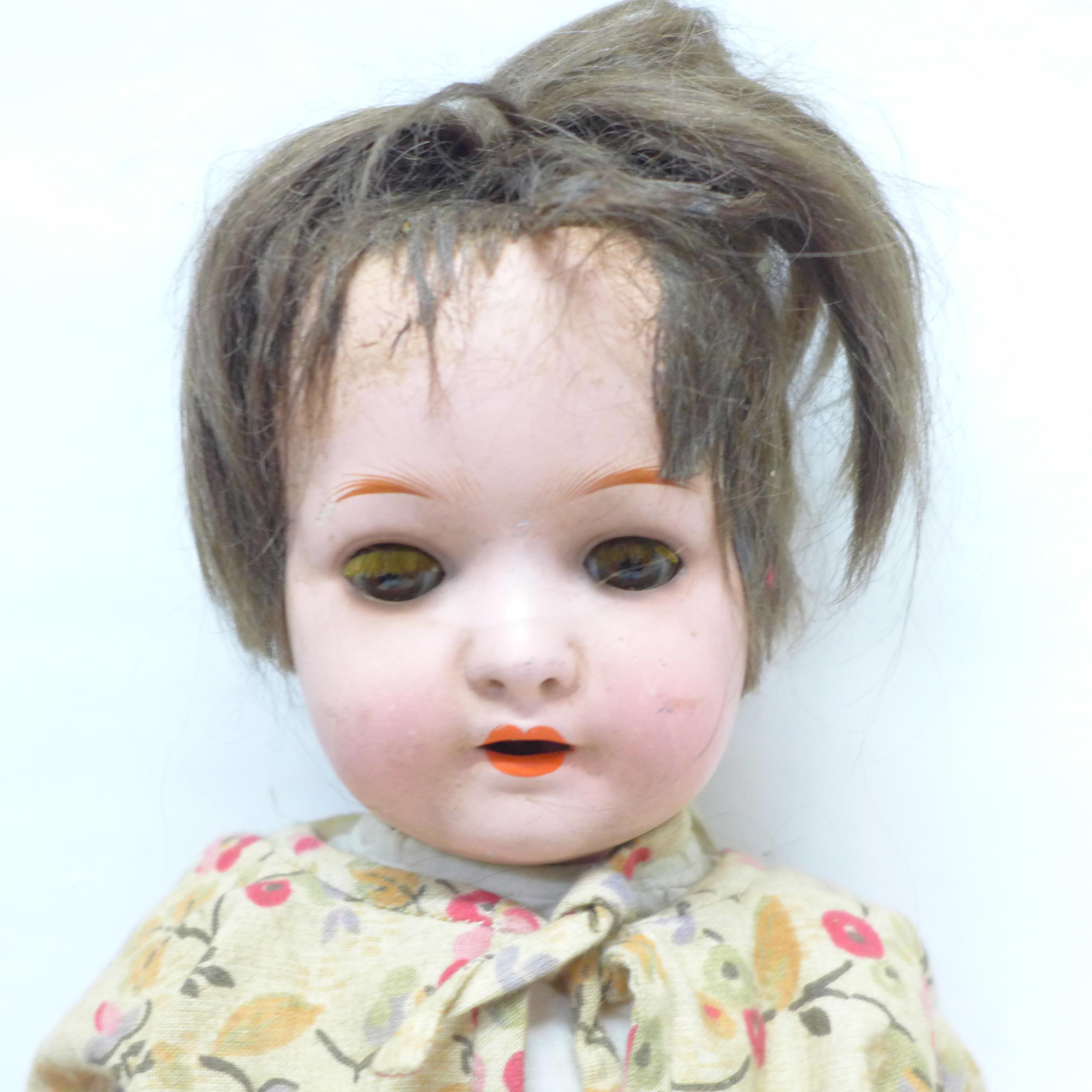 A Heubach Koppelsdorf doll, 320.2/0, 37cm - Image 2 of 6