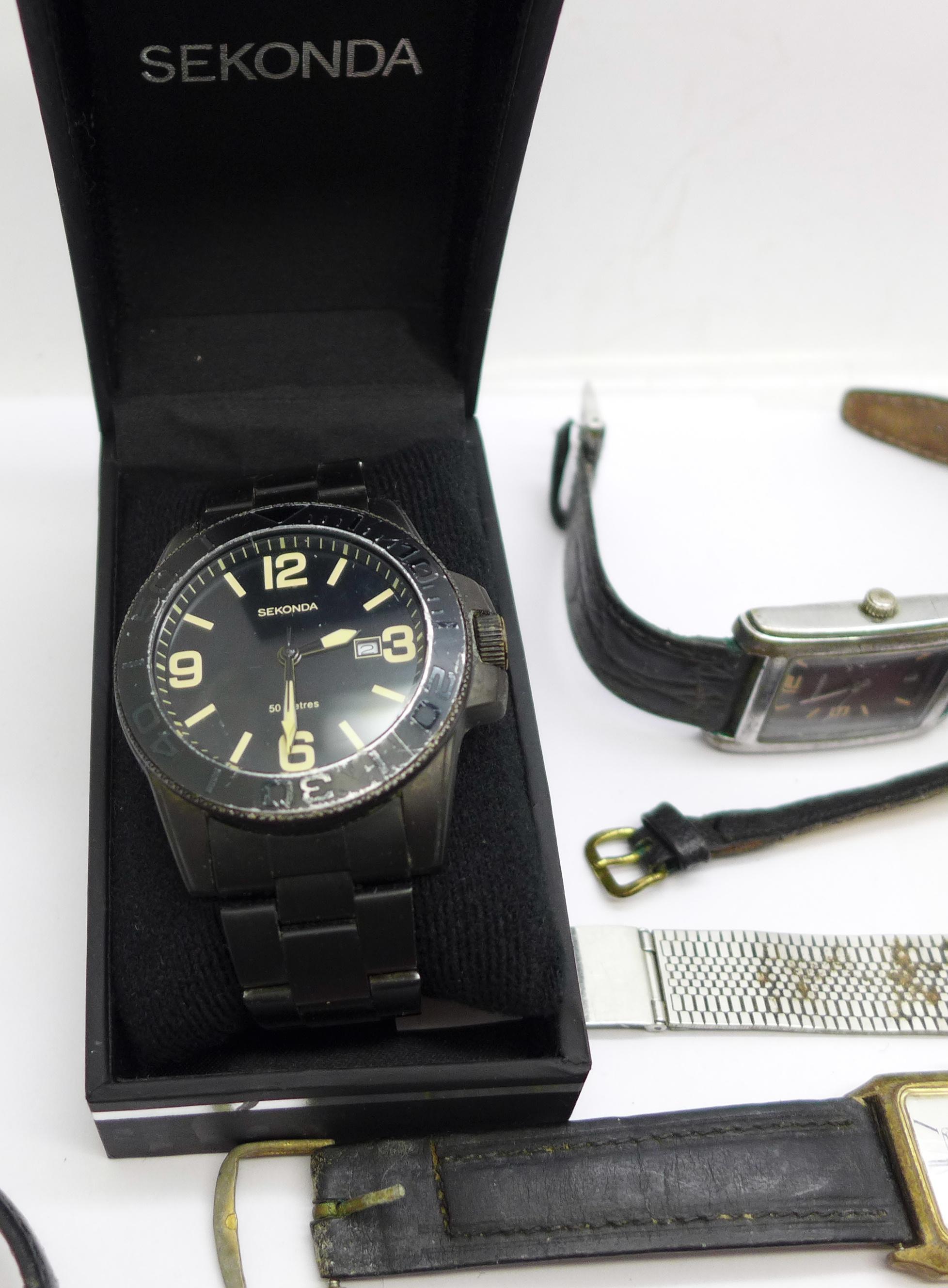 Wristwatches including Sekonda, Seiko, Ingersoll, Rotary, etc. - Image 5 of 5