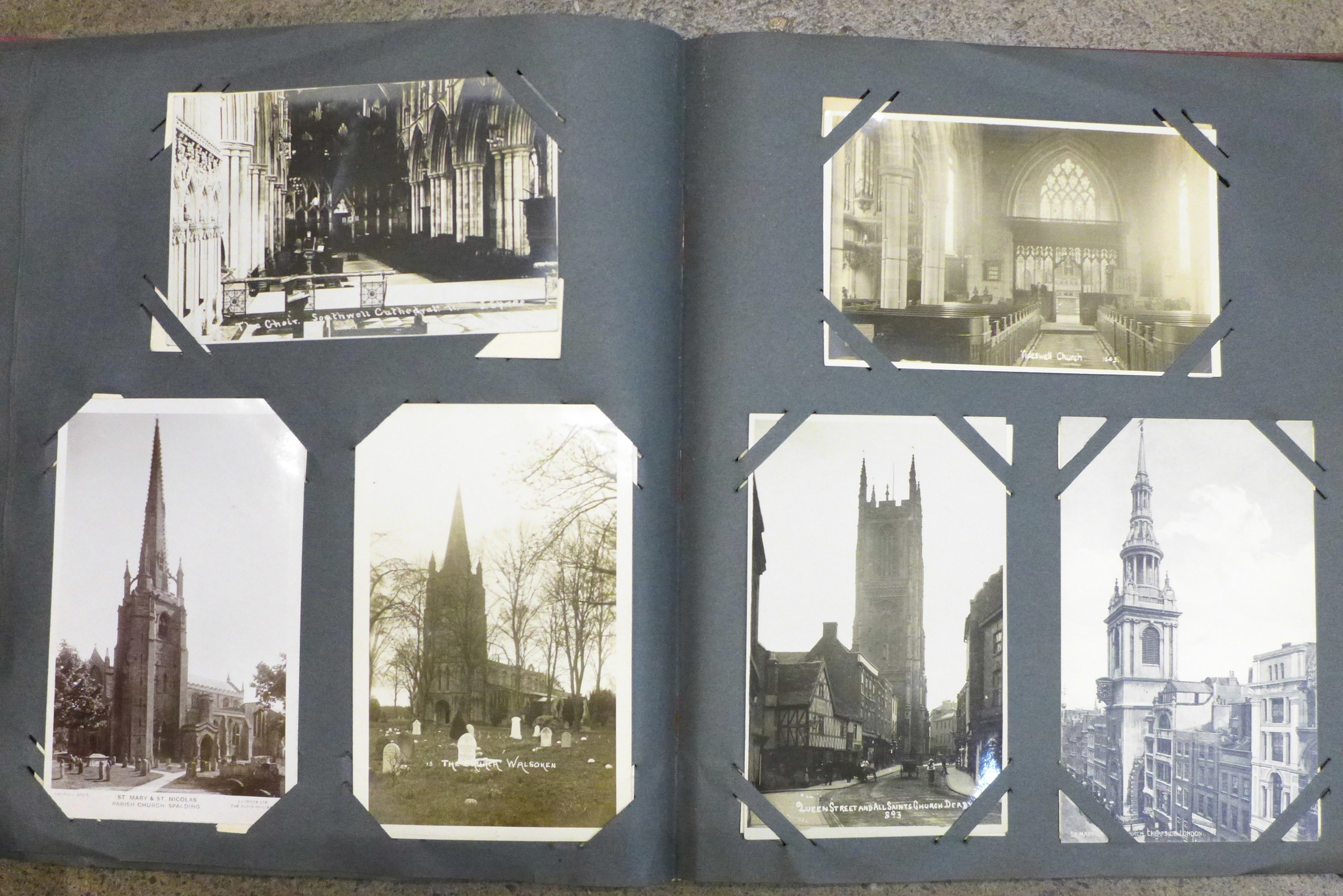 An album of 1920's postcards and postal history - Image 8 of 9