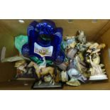 A collection of china figures, etc. **PLEASE NOTE THIS LOT IS NOT ELIGIBLE FOR POSTING AND PACKING**