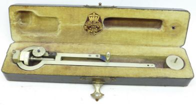 A precision drawing instrument by Troust?? Simms