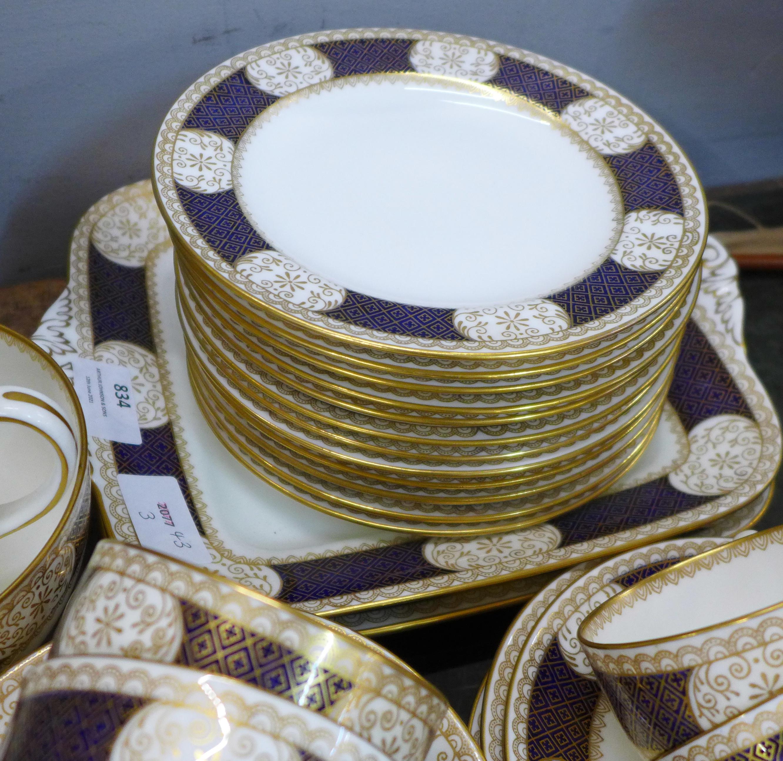 A twelve piece gilt Wedgwood tea service - Image 2 of 5
