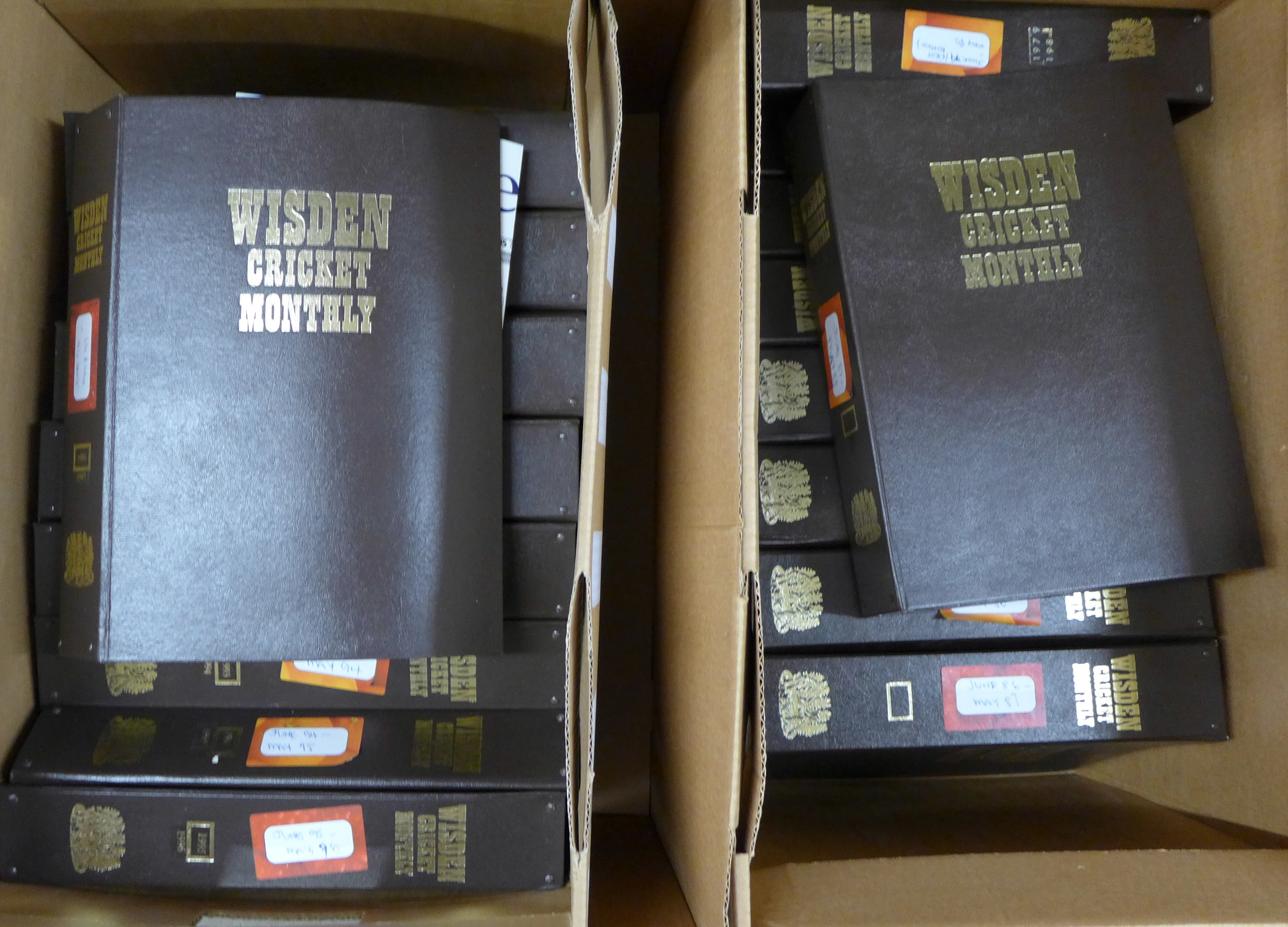 Wisden Cricket Monthly magazines from the first publication in 1979 to May 2007, in twenty-eight - Image 2 of 4