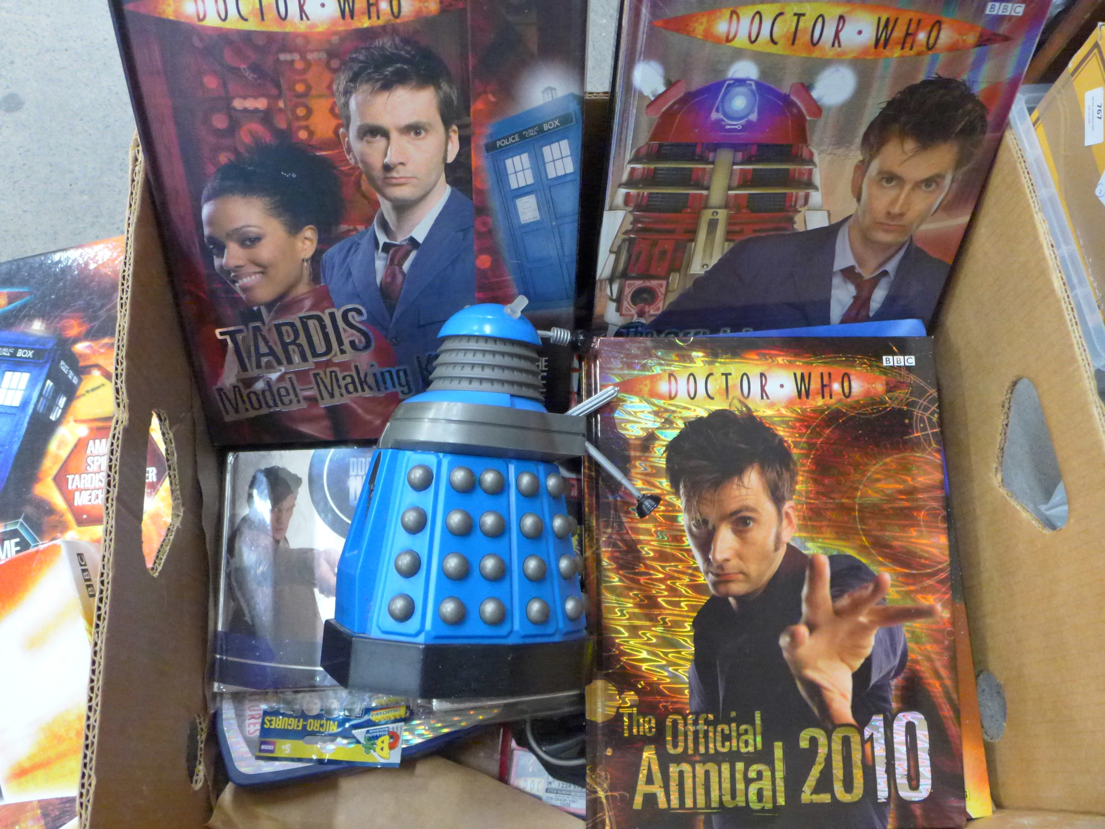 A collection of vintage Doctor Who merchandise and games, including a radio controlled Dalek - Image 2 of 3