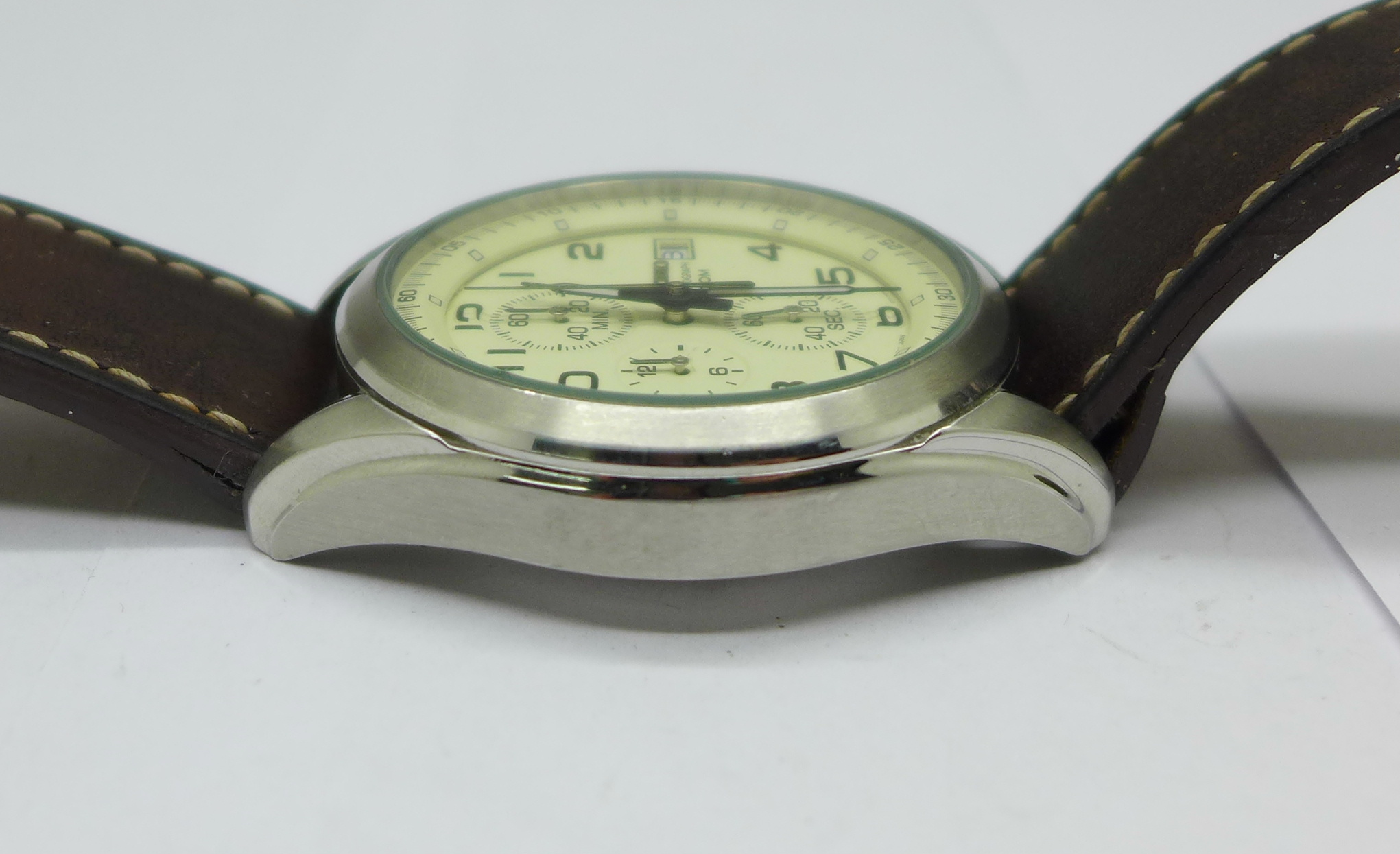 A Seiko chronograph wristwatch - Image 3 of 6