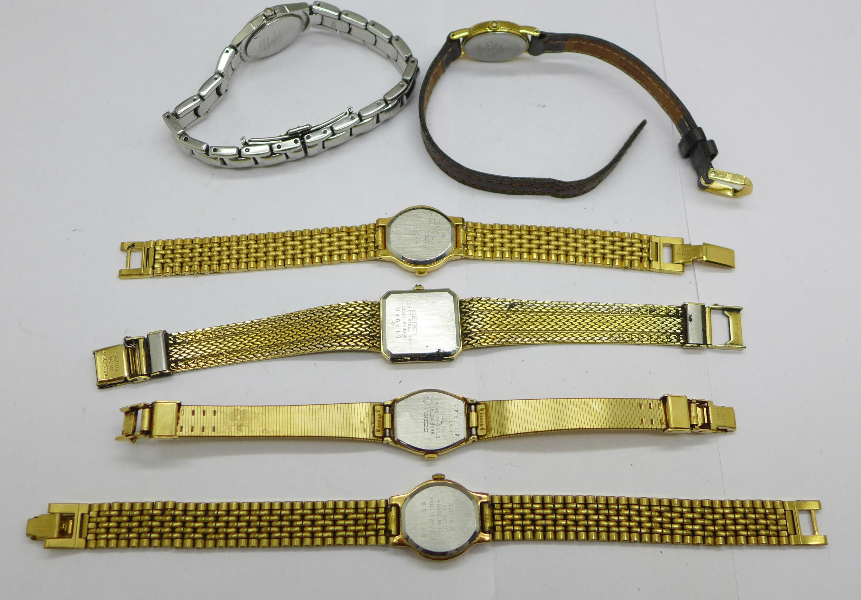 Six lady's Seiko wristwatches - Image 4 of 4