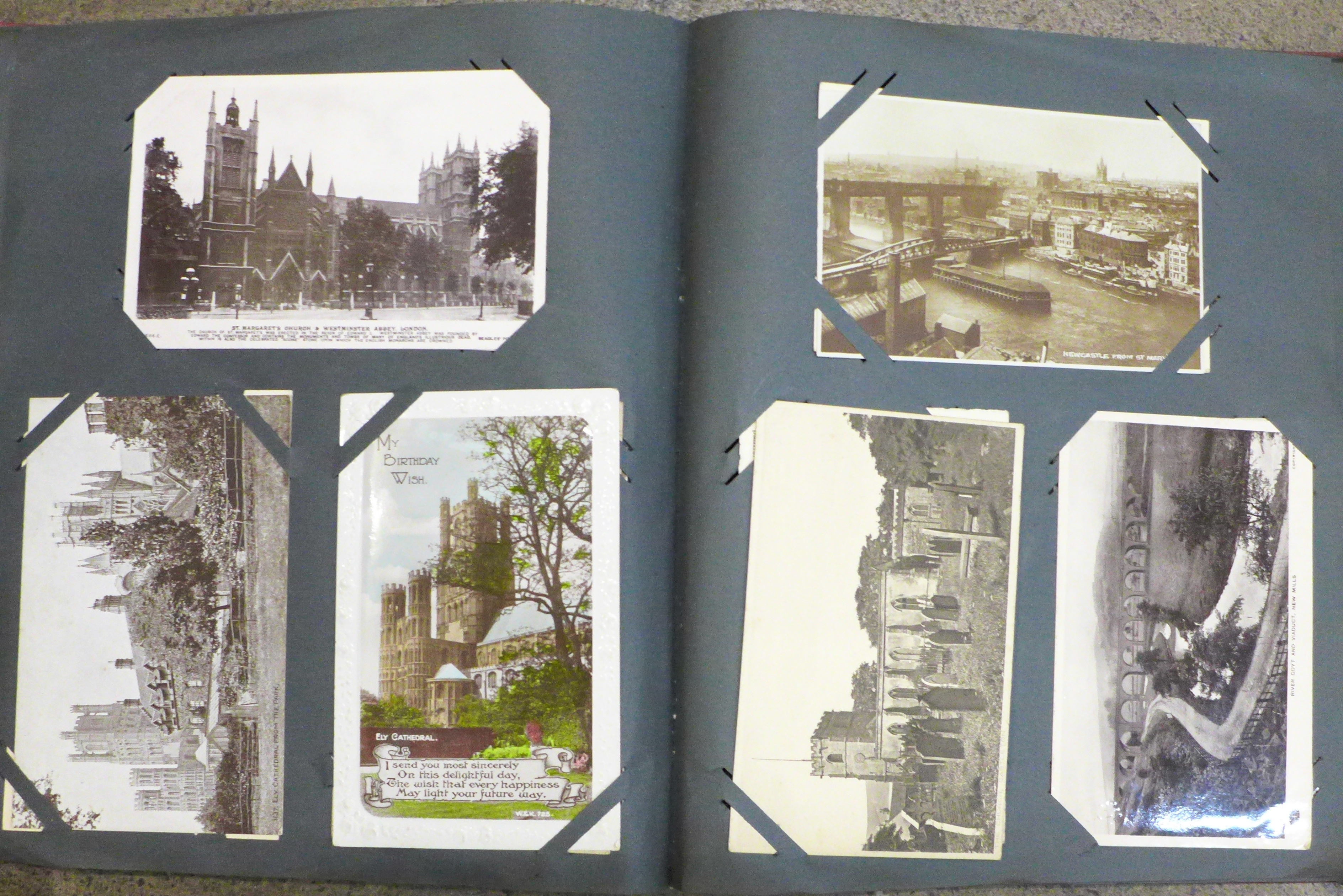 An album of 1920's postcards and postal history - Image 9 of 9