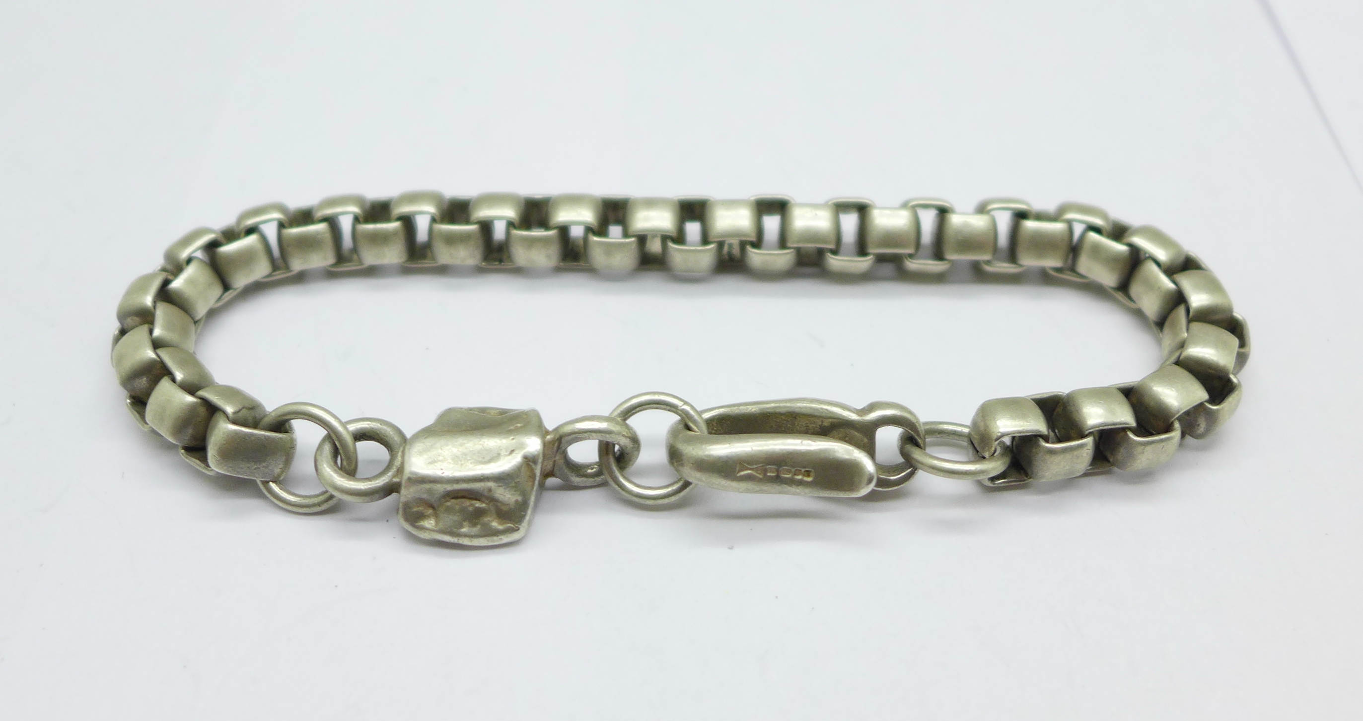 A Paul Smith silver chain with 'nugget' detail, 46g - Image 2 of 3