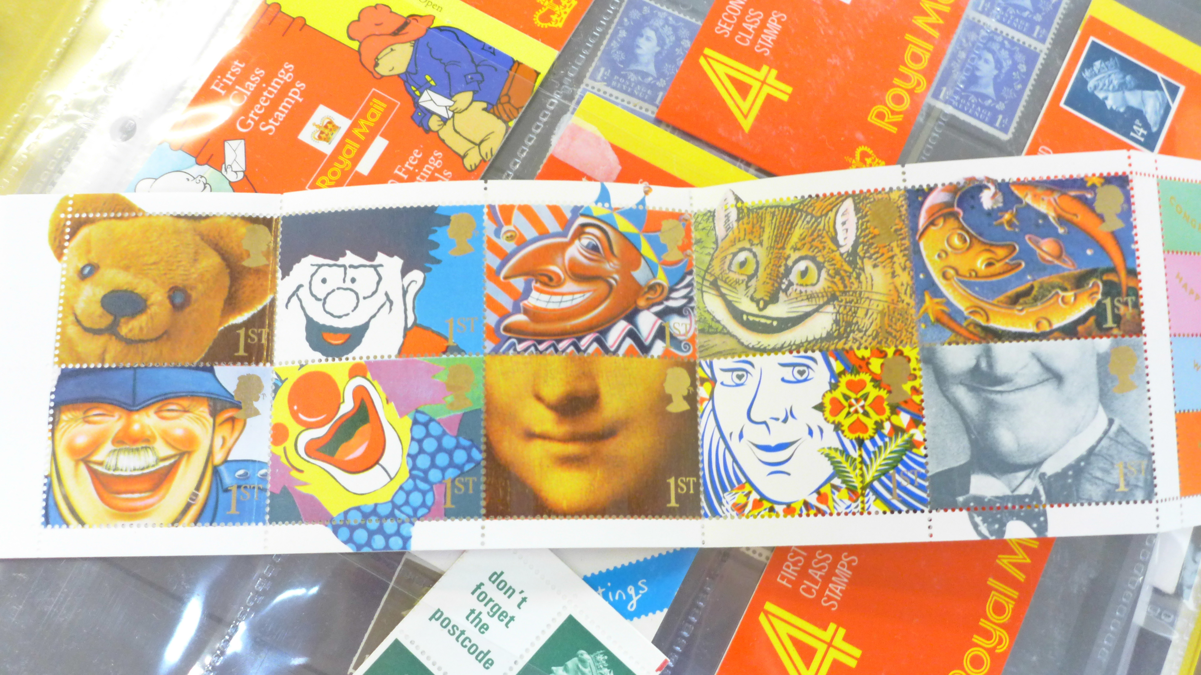 Great Britain booklets, booklet panes and booklet First Day covers - Face value exceeds £40 - Image 12 of 12