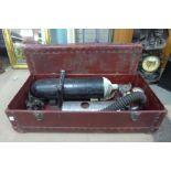 A mid 20th Century vintage Novix, Siebe Gorman & Co Ltd. oxygen resuscitating apparatus