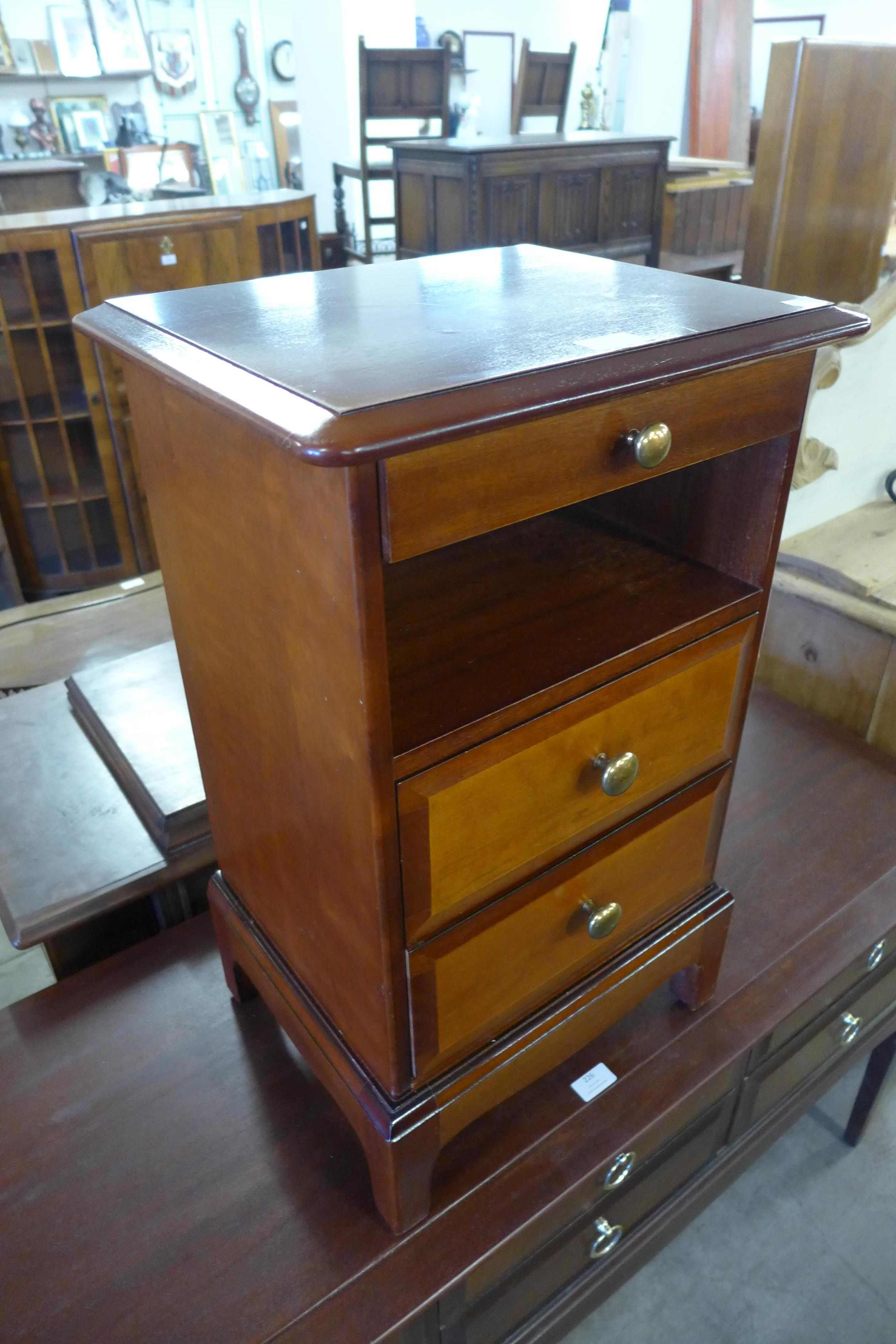 A Stag bedside chest