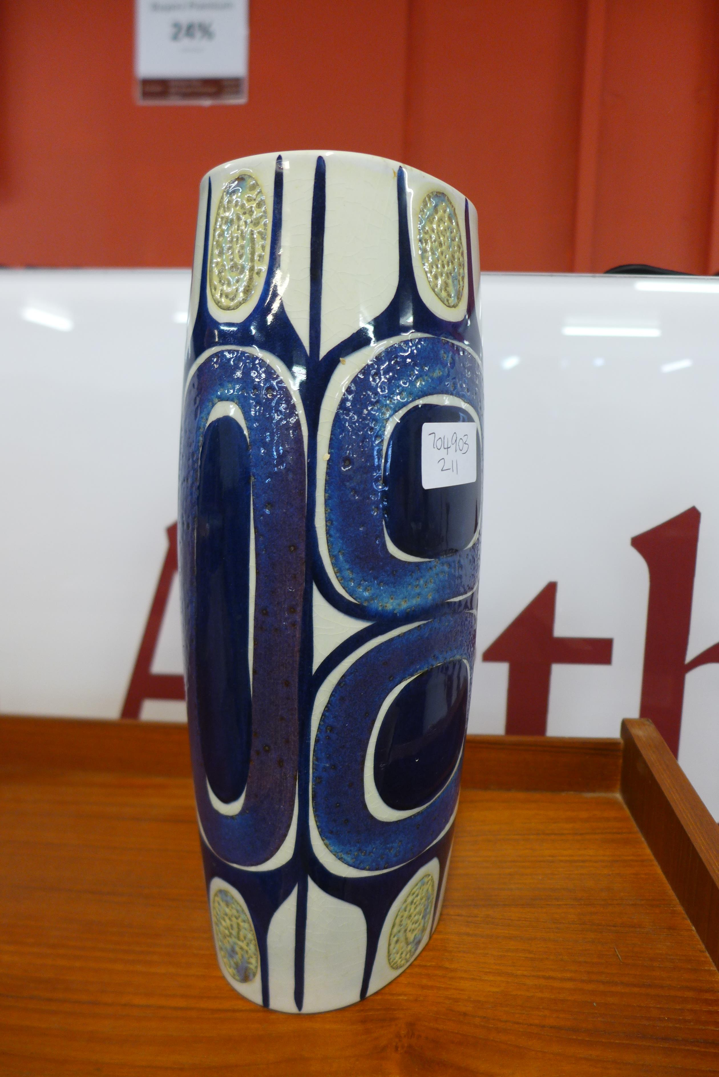 A Danish studio pottery vase, base numbered 450/3116 - Image 2 of 3