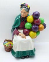 A Royal Doulton figure, The Old Balloon Seller