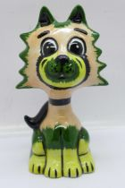A Lorna Bailey Sonic the Cat, signed on the base, 13cm