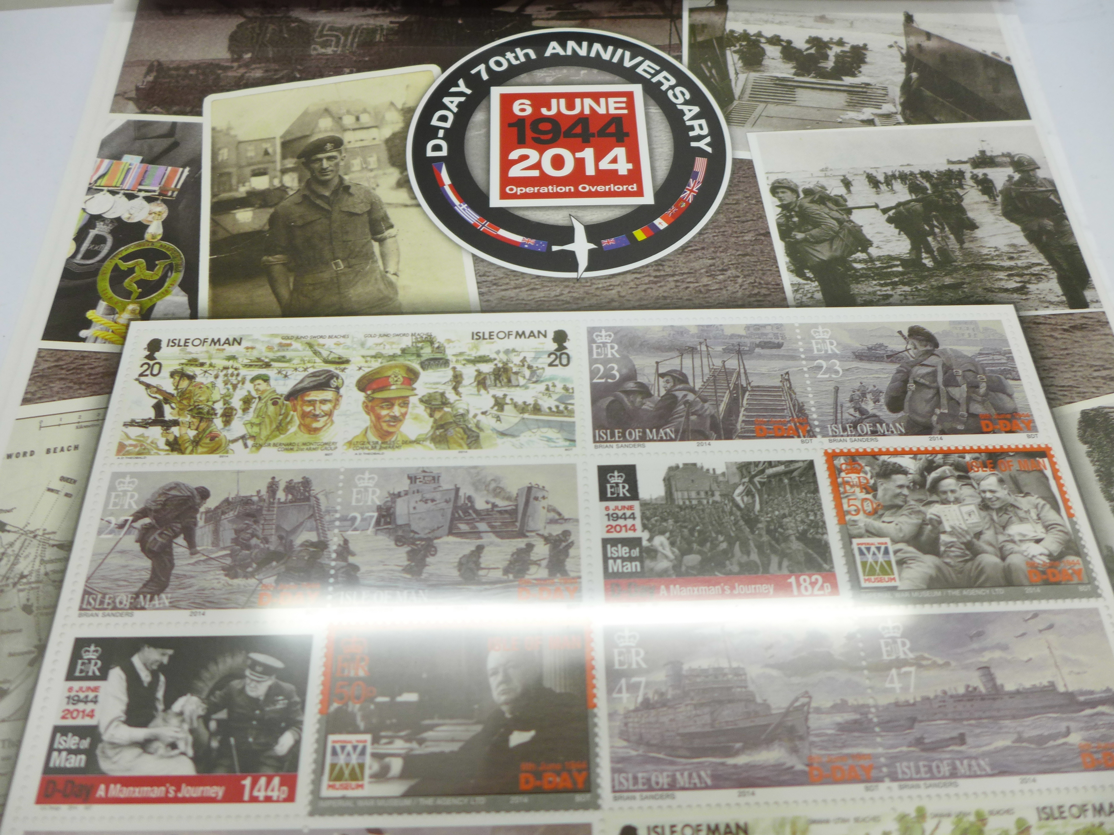 Isle of Man, 2014 D-Day 70th Anniversary 6th June 1944, Operation Overlord, fact sheets, etc. - Image 3 of 3