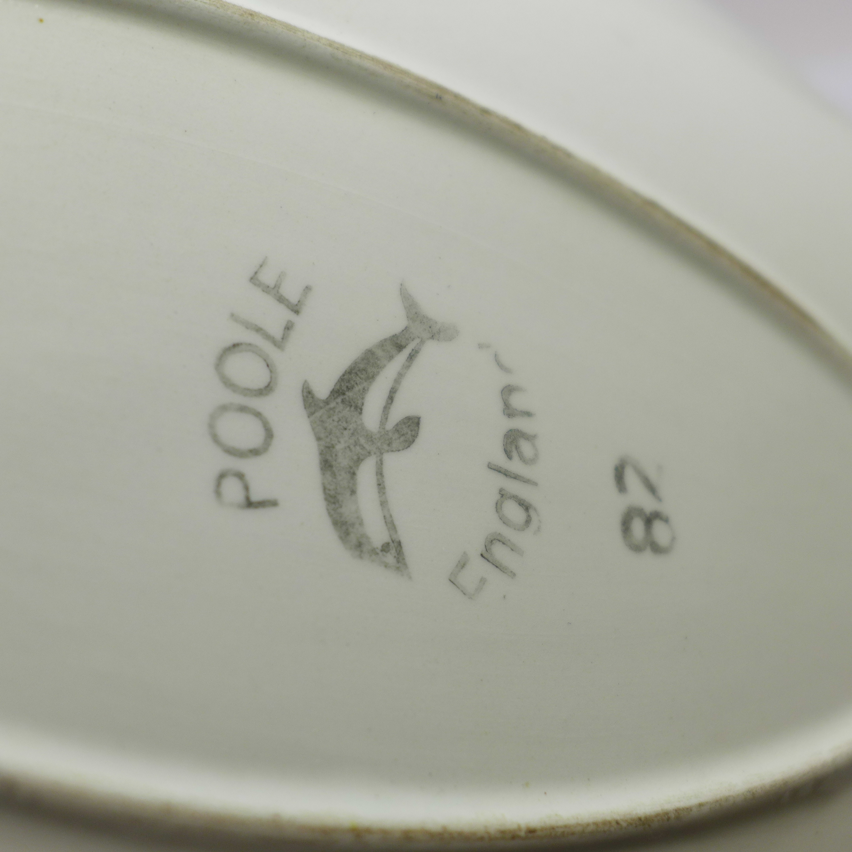 Two Poole spear dishes - Image 3 of 3