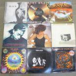 Fourteen 1970's/80's LP records
