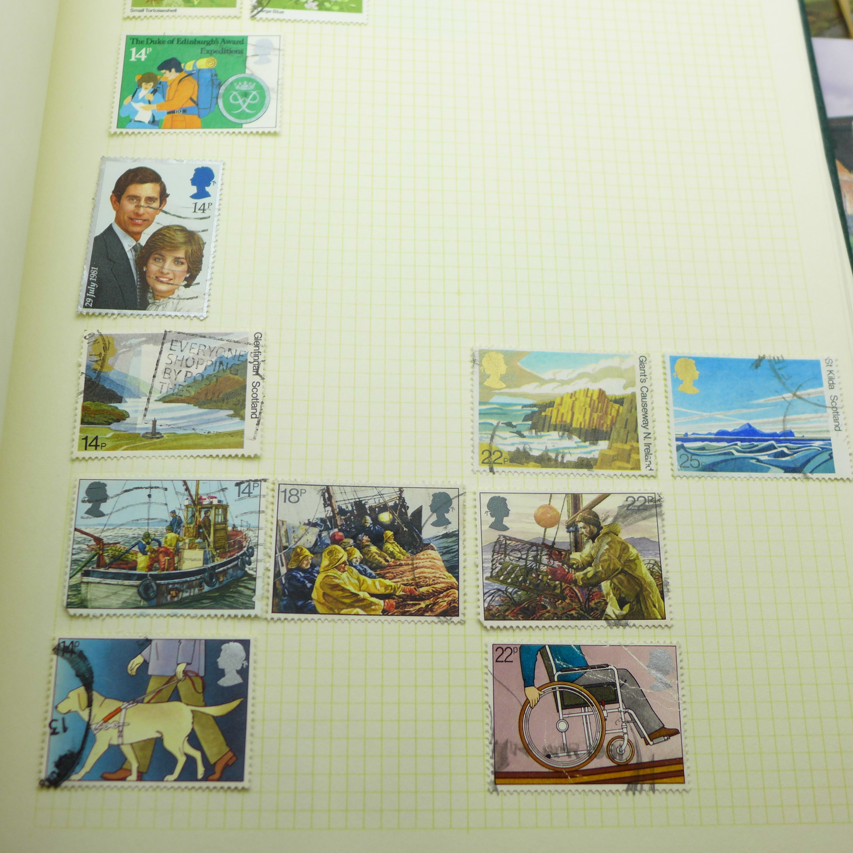 A collection of postcards and a stamp album - Image 4 of 9