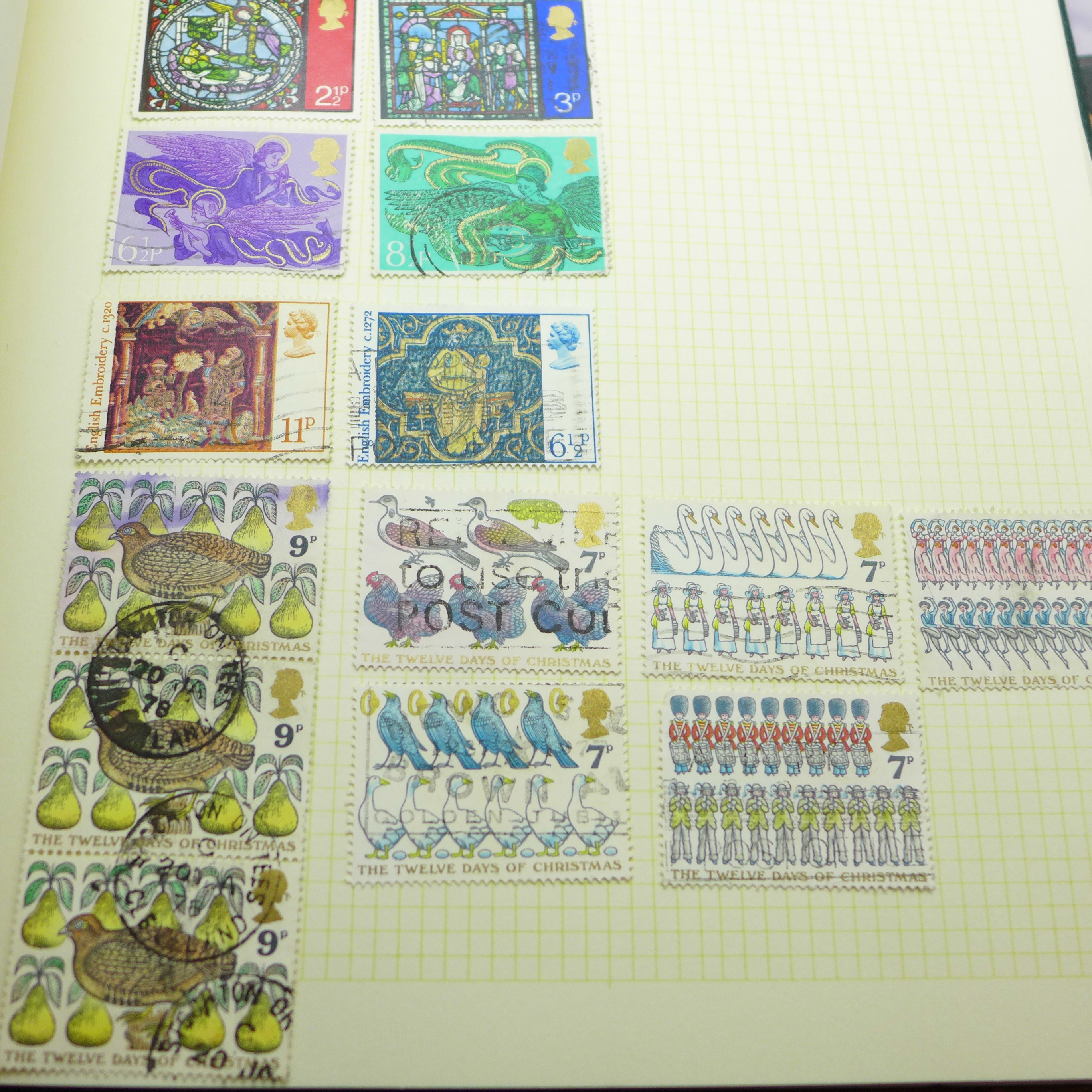 A collection of postcards and a stamp album - Image 7 of 9