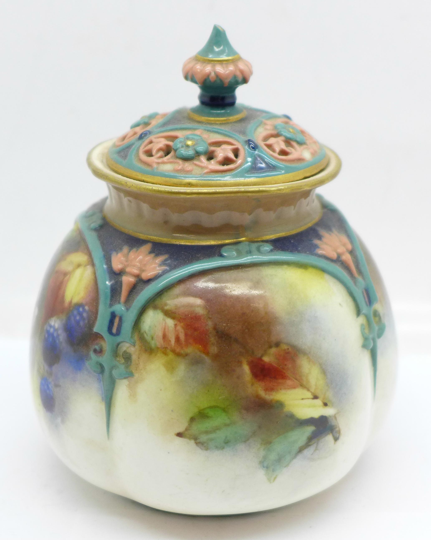 A Hadley's Worcester pot pourri - Image 4 of 8