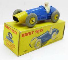 A Dinky Toys No. 23H Ferrari Racing Car, boxed