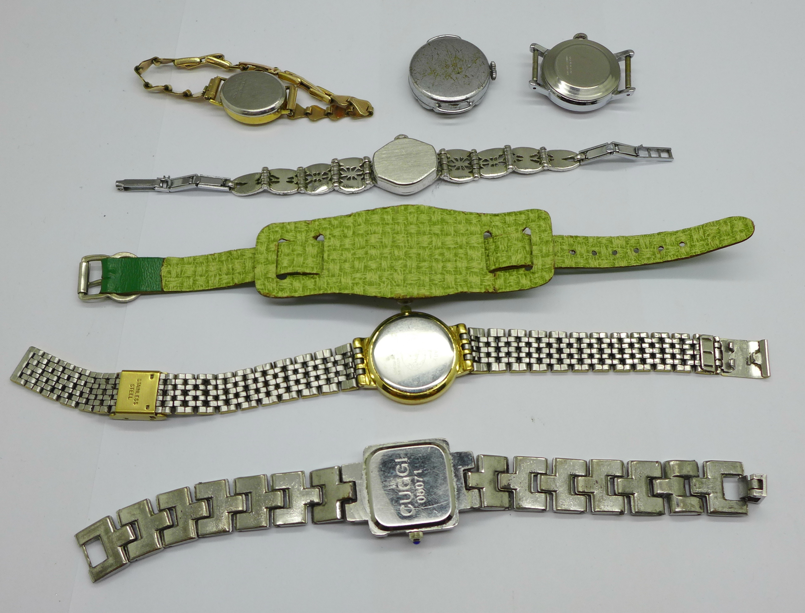 Six lady's wristwatches - Image 3 of 3