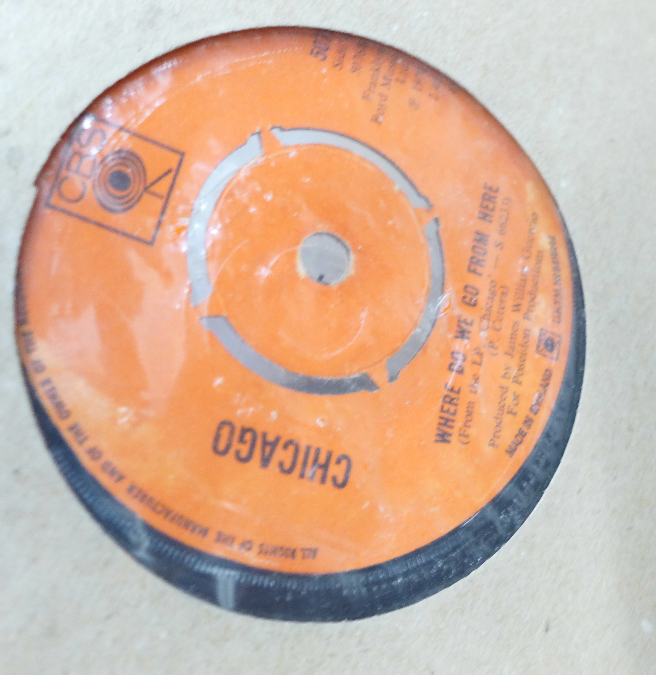 """A collection of 1960's - 1980's 7"""" vinyl records - Image 3 of 3"""