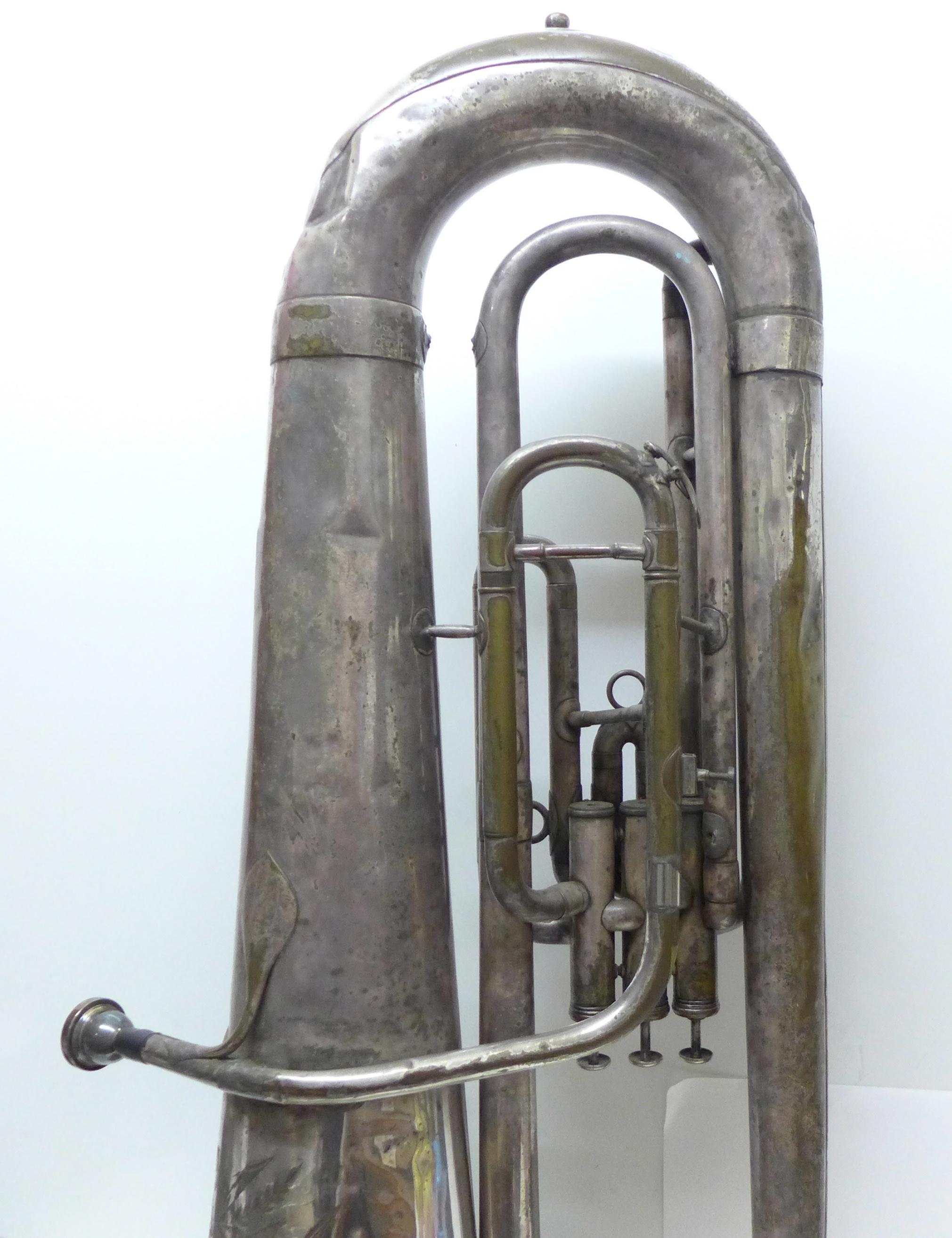 A Besson b-flat tuba - Image 2 of 7