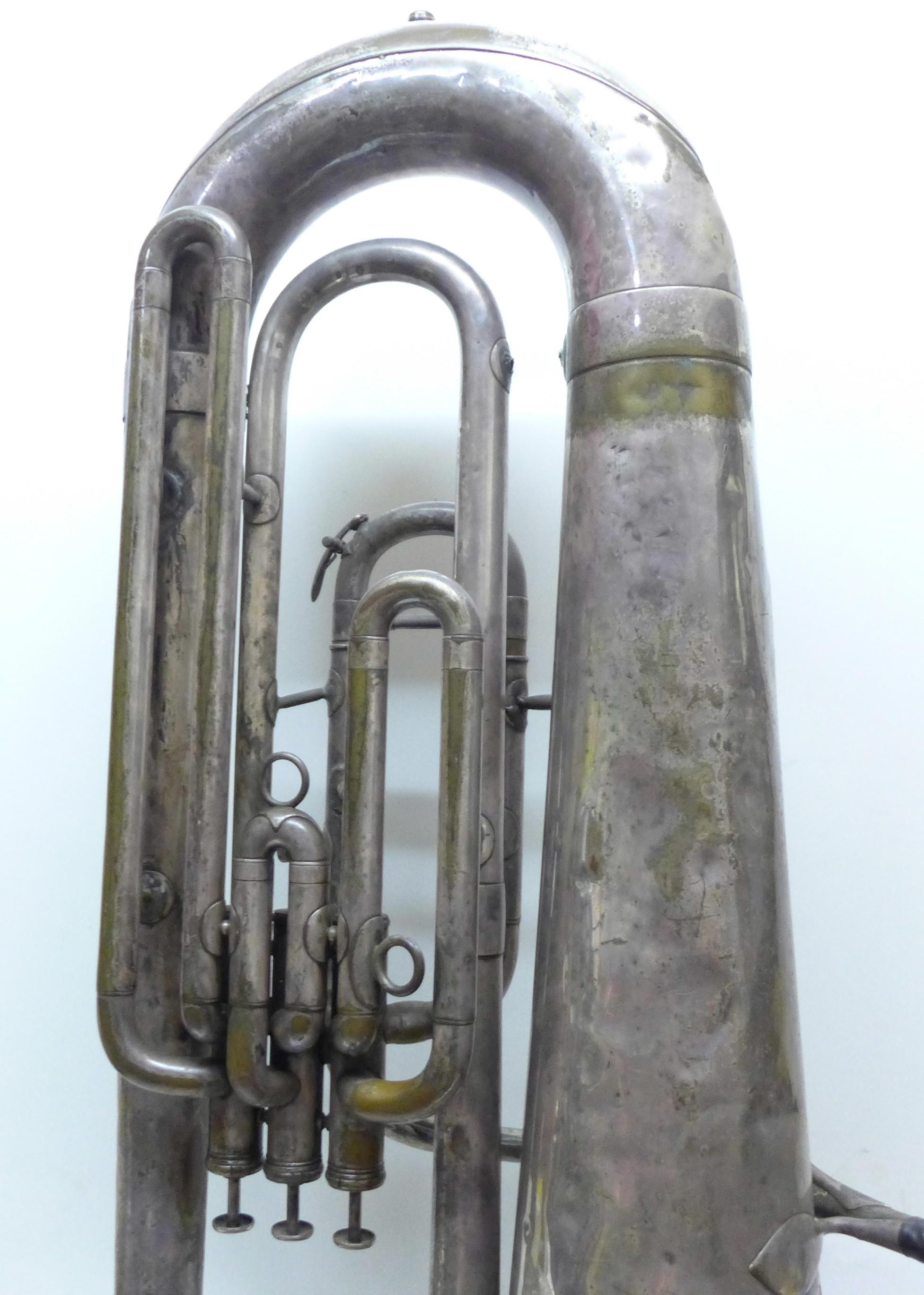 A Besson b-flat tuba - Image 6 of 7