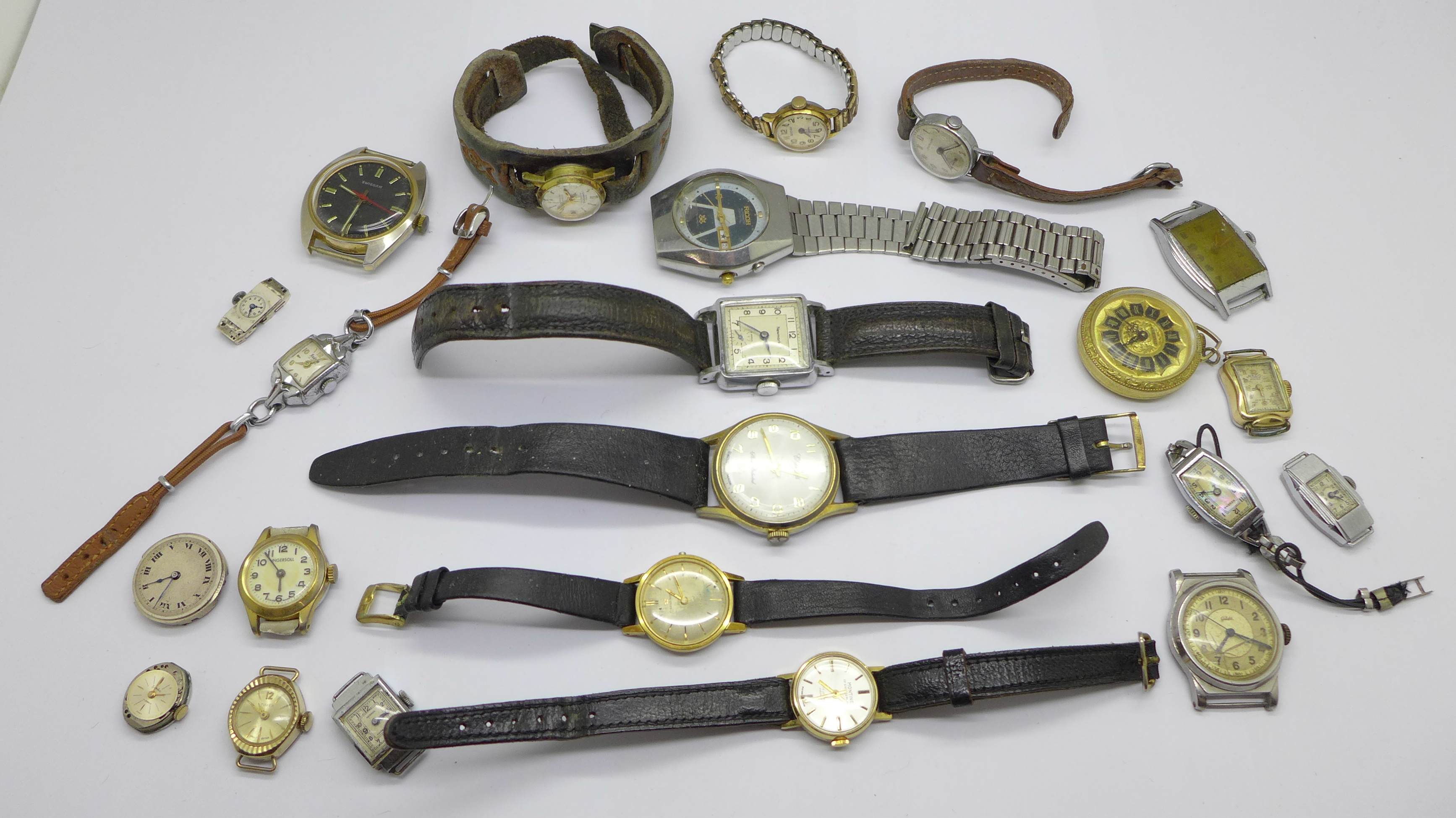 Mechanical wristwatches, a/f