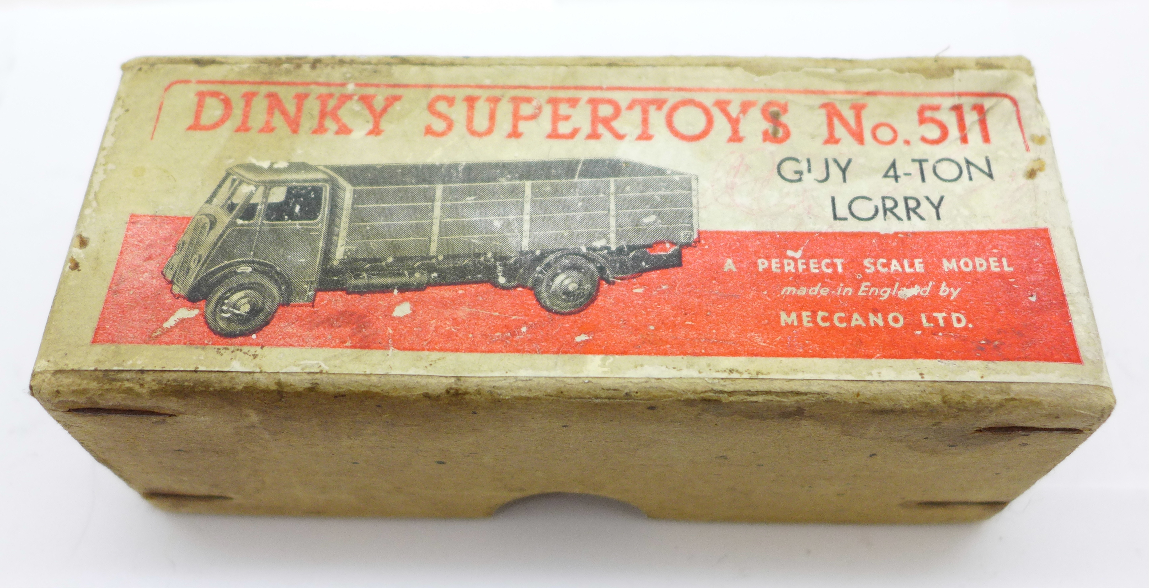 A Dinky Supertoys No. 511 Guy 4-Ton Lorry, boxed - Image 4 of 4
