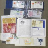 Stamps; Royalty themed stamps and covers
