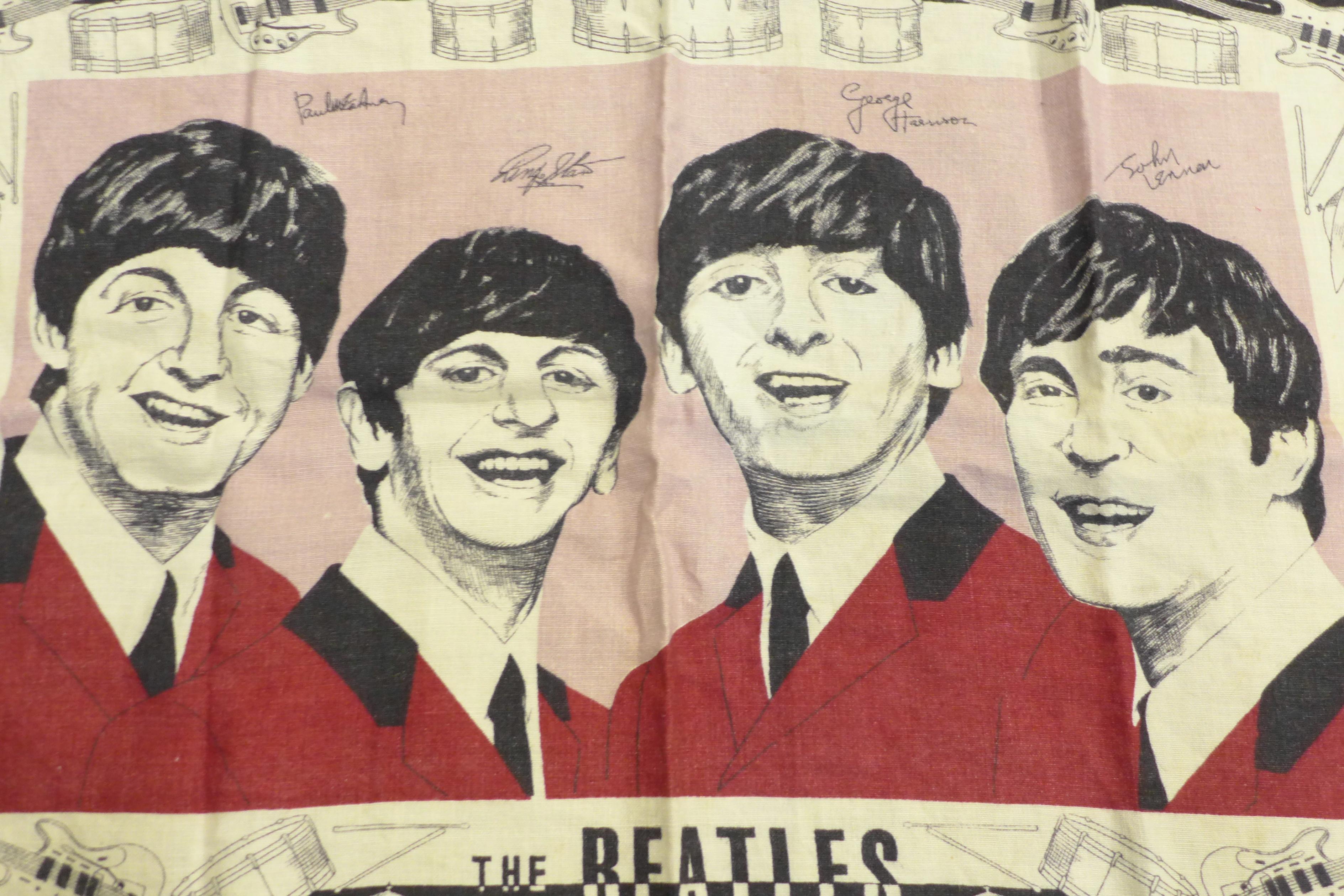 A Beatles tea towel - Image 3 of 4