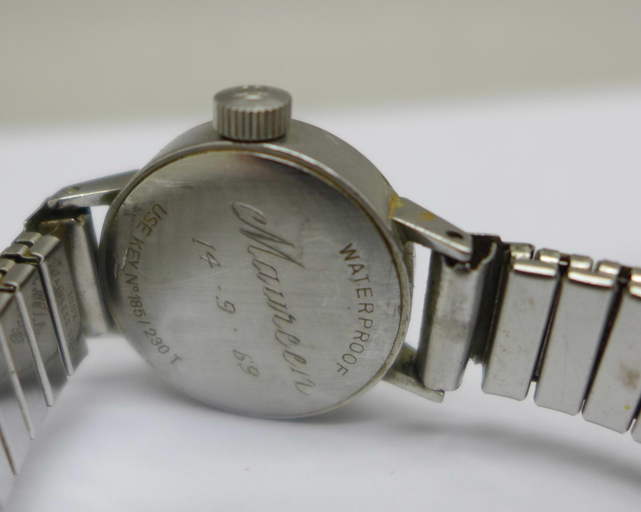A lady's Tissot Seastar wristwatch and a Tosca 30 jewel wristwatch - Image 7 of 8