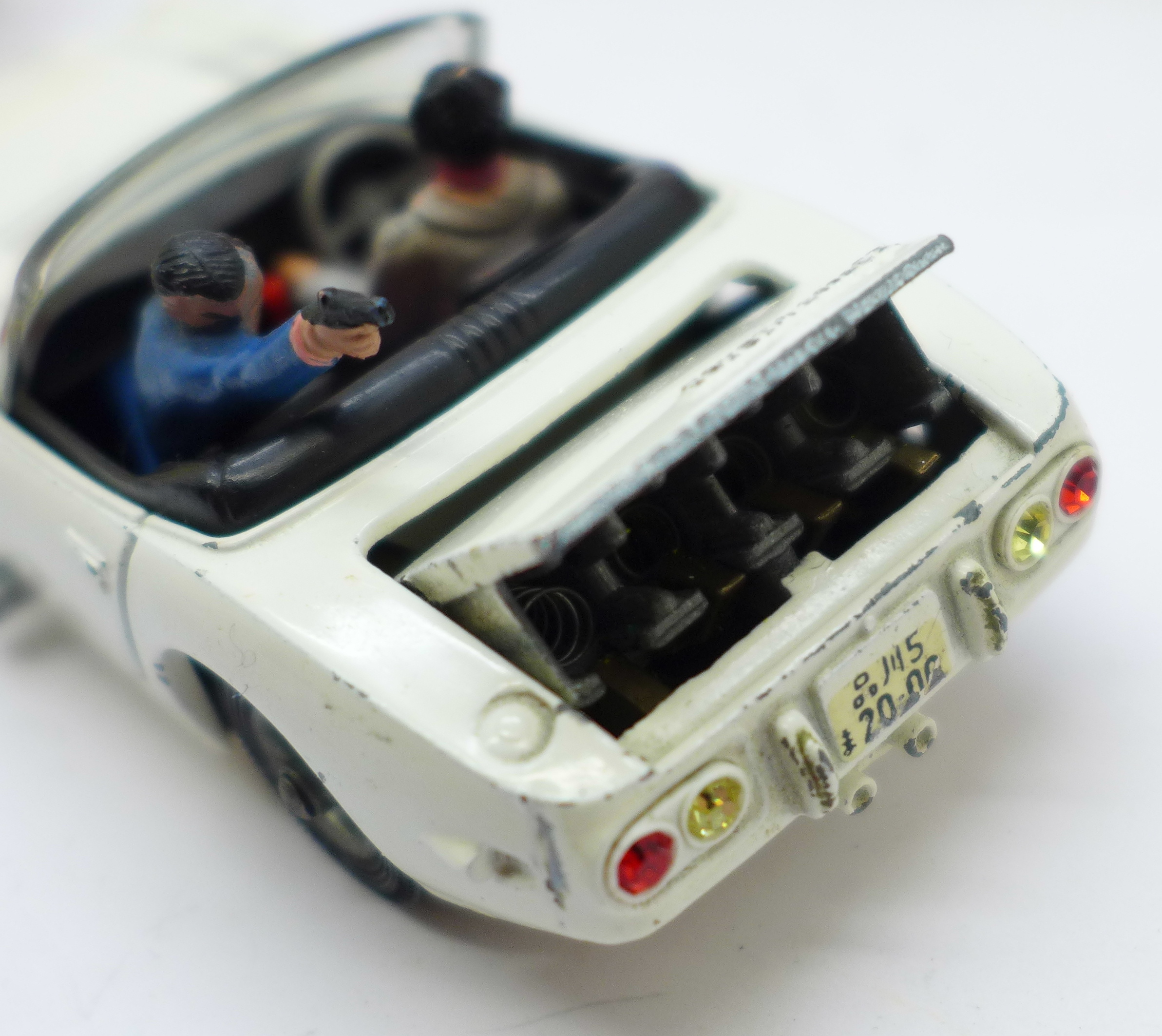 A Corgi Toys No. 366, James Bond Toyota 2000GT, boxed, with reproduction inner - Image 7 of 7