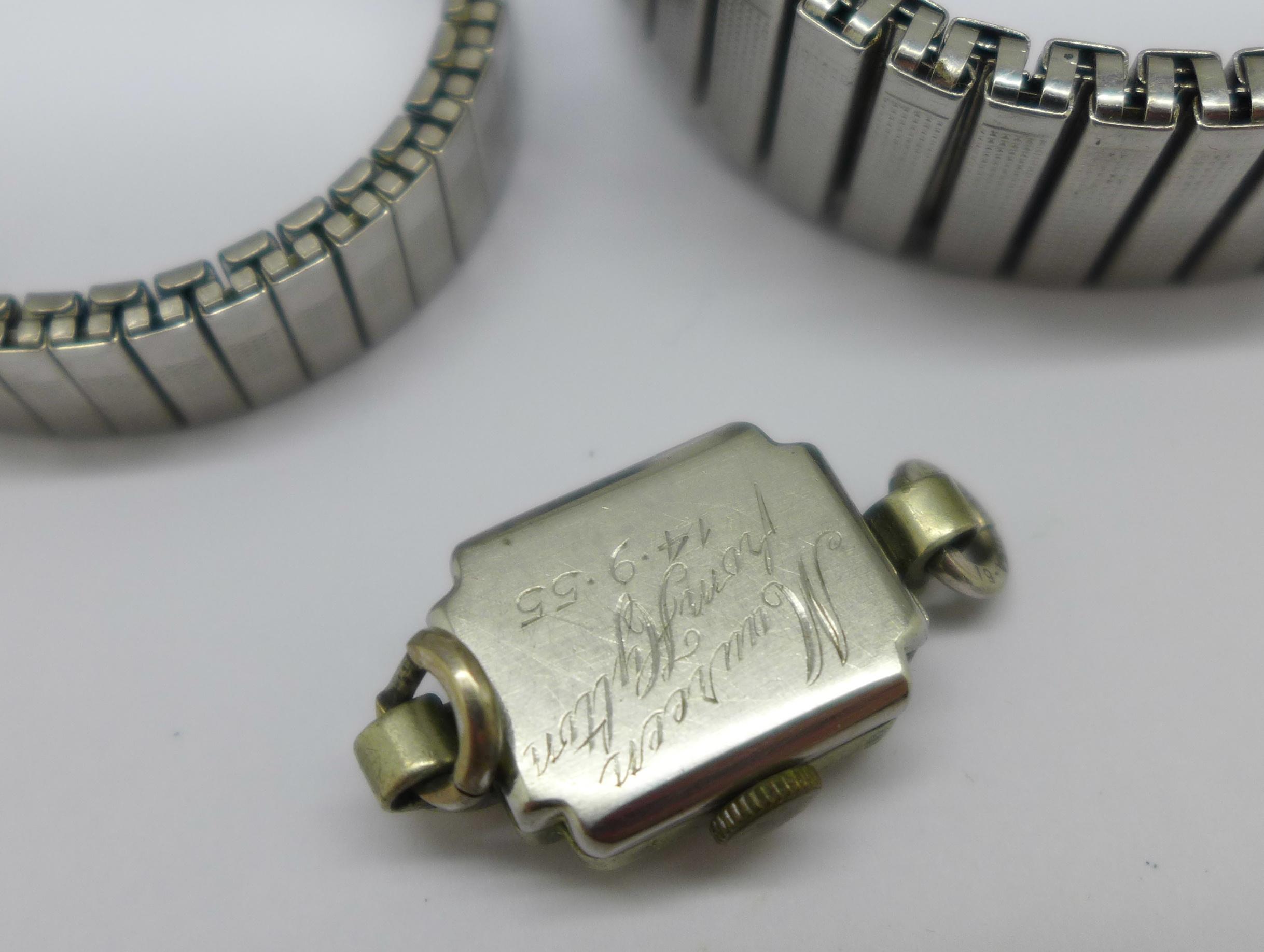 A lady's Tissot Seastar wristwatch and a Tosca 30 jewel wristwatch - Image 8 of 8