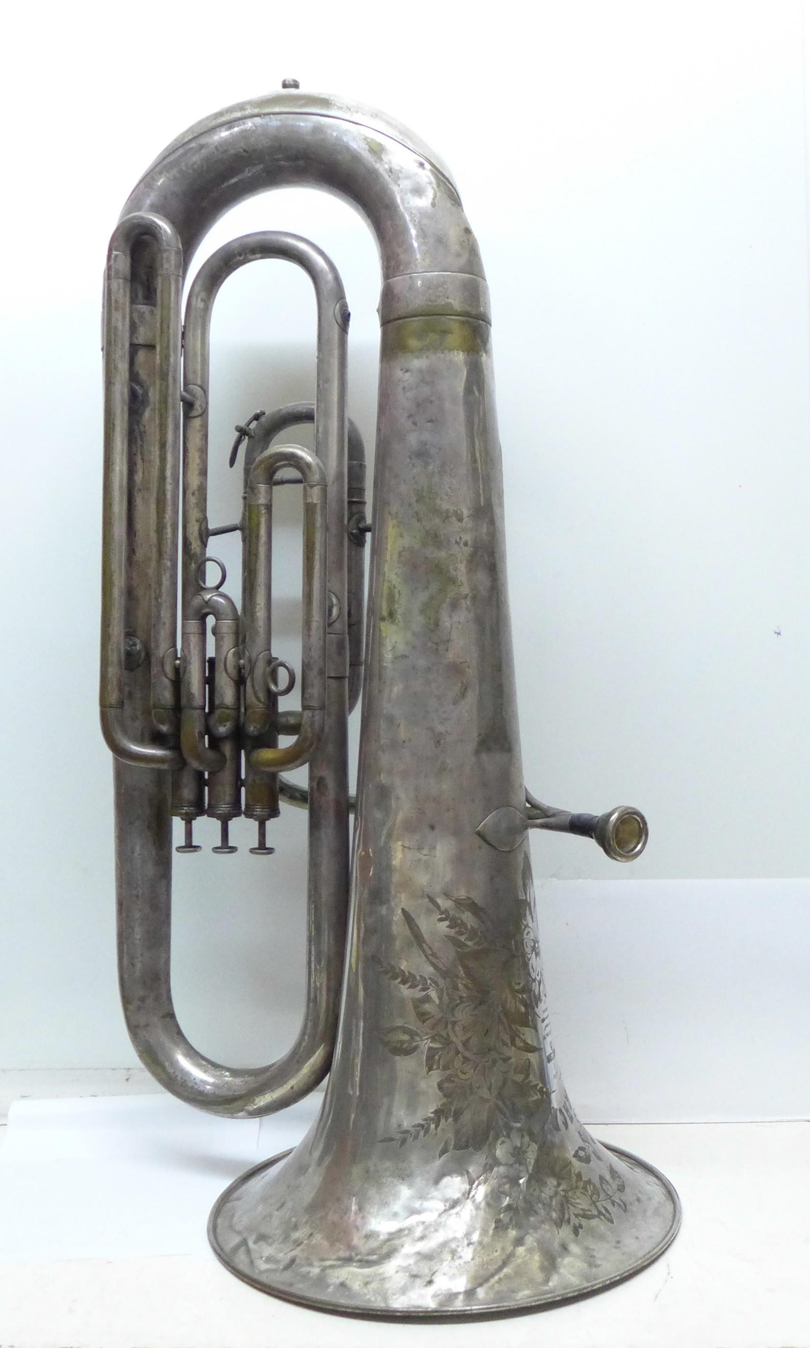 A Besson b-flat tuba - Image 5 of 7