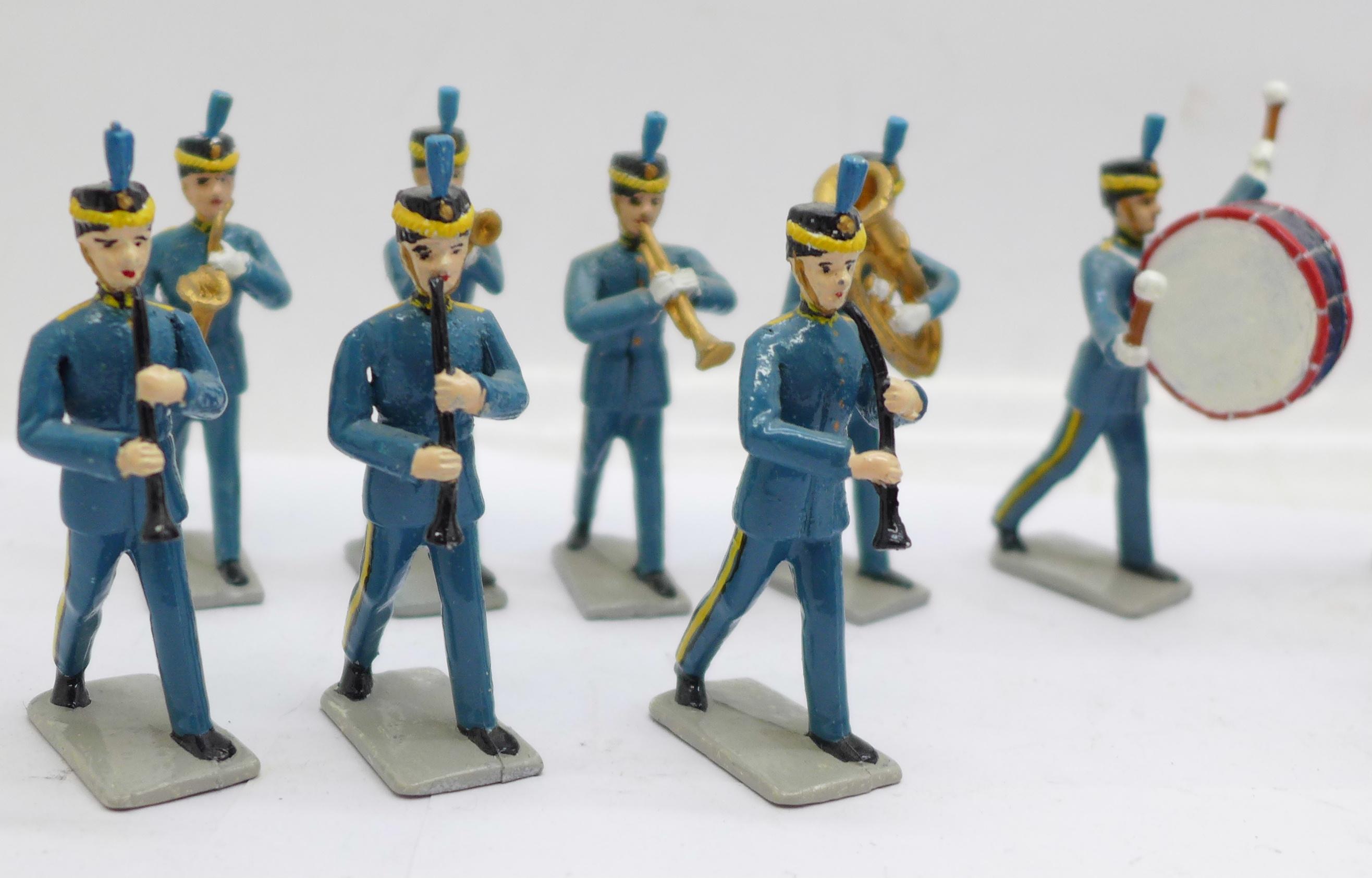 Fifteen metal marching band figures - Image 2 of 5