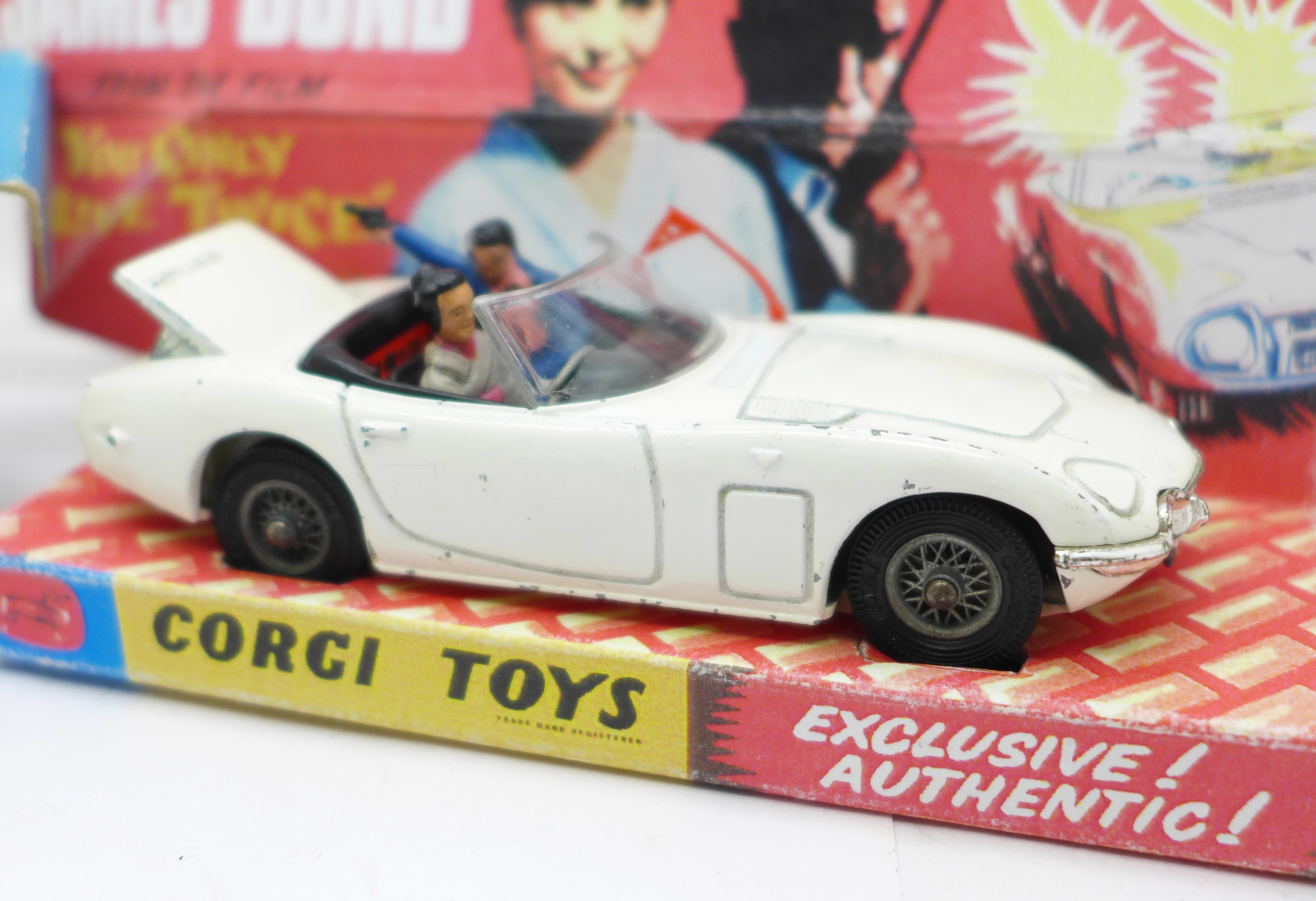 A Corgi Toys No. 366, James Bond Toyota 2000GT, boxed, with reproduction inner - Image 3 of 7